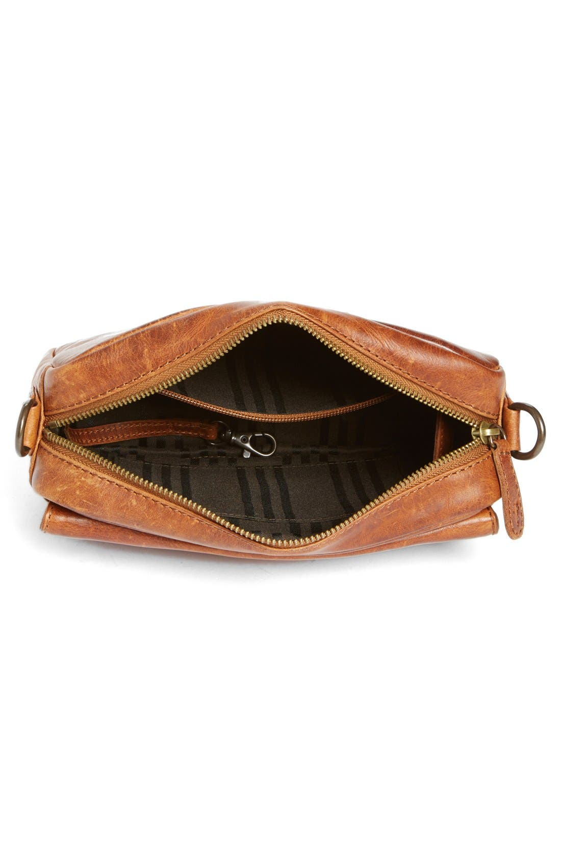 'Melissa' Leather Camera Crossbody Bag,                             Alternate thumbnail 4, color,                             200