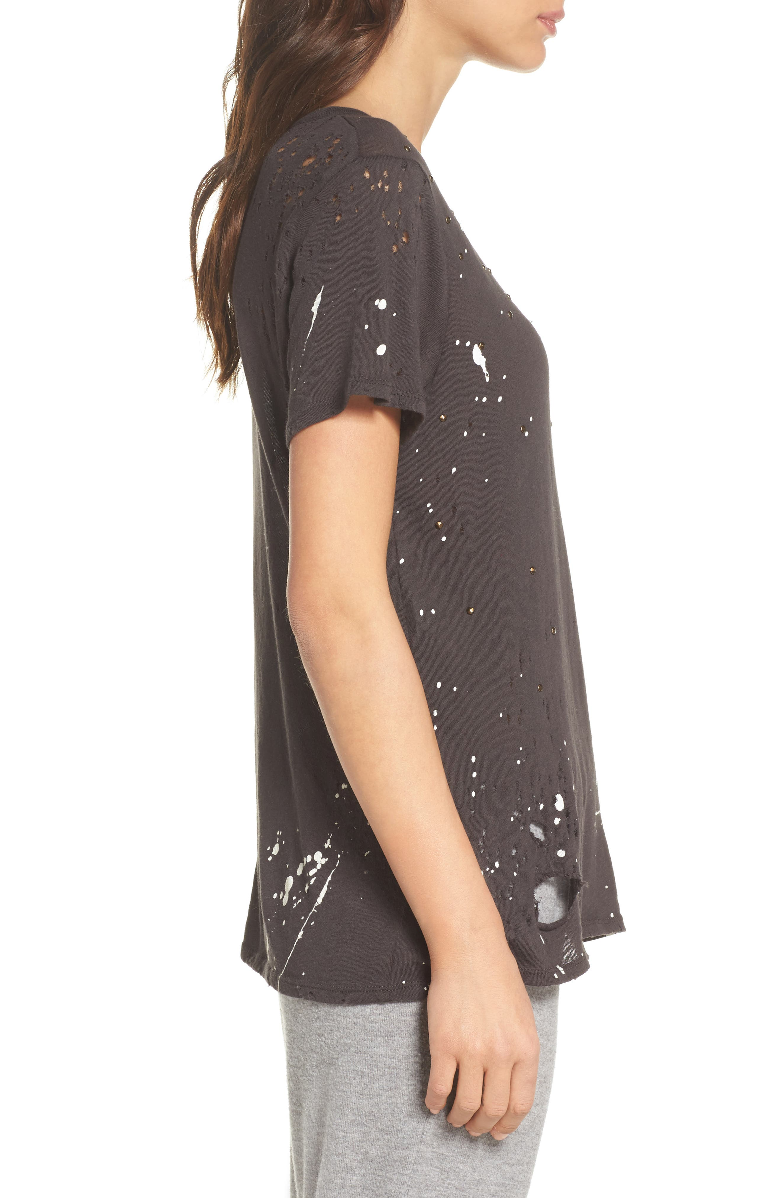 Distressed Tee,                             Alternate thumbnail 3, color,                             003