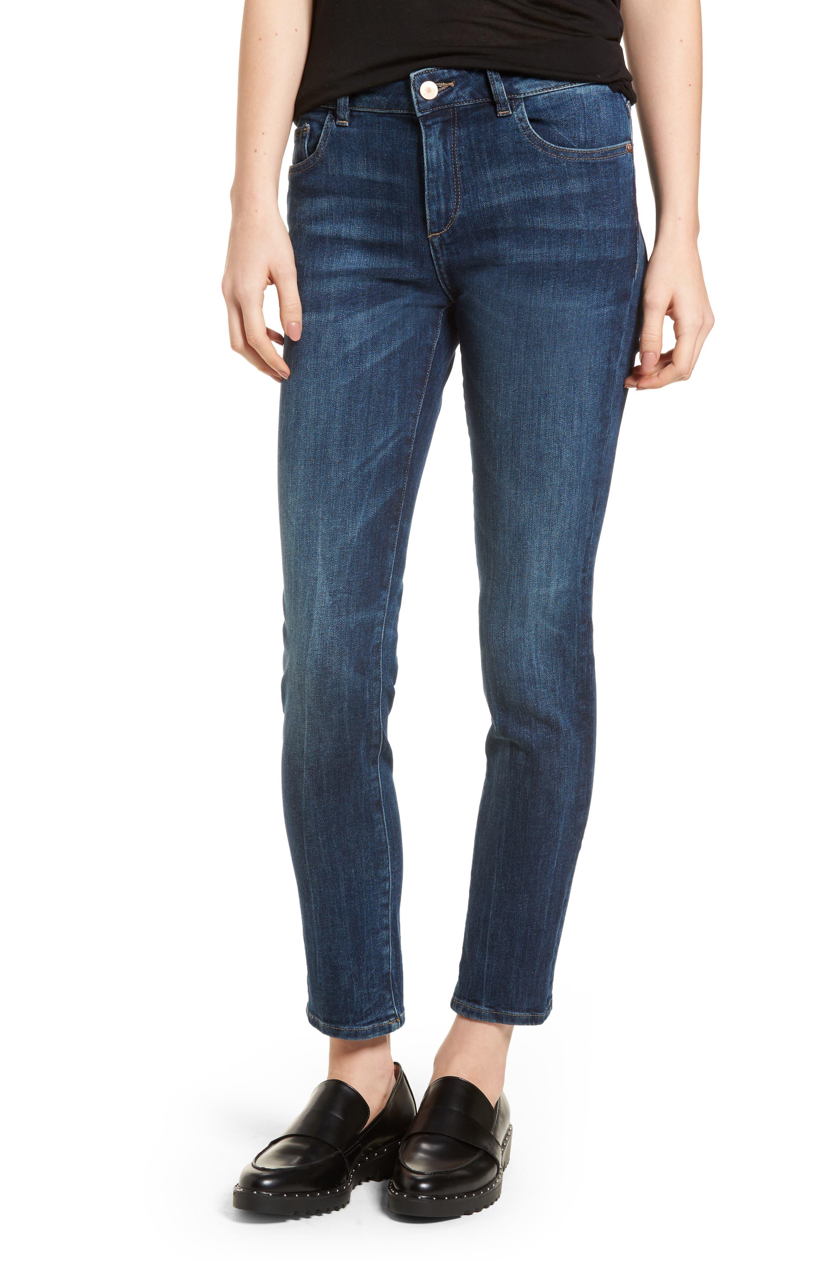 DL1961 Angel Instasculpt Skinny Cigarette Jeans, Main, color, 405