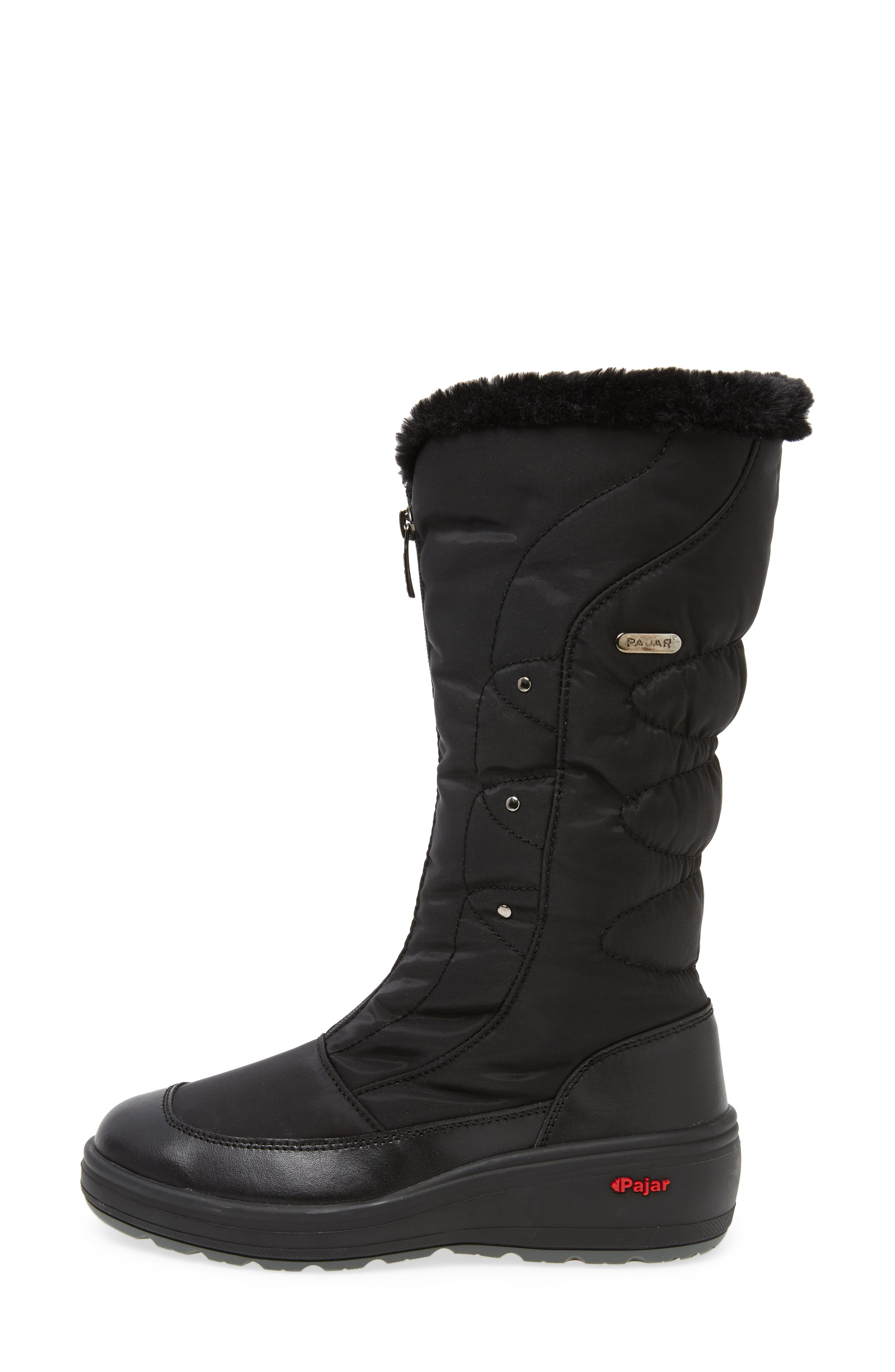 Fusion Weatherproof Boot,                             Alternate thumbnail 3, color,                             001