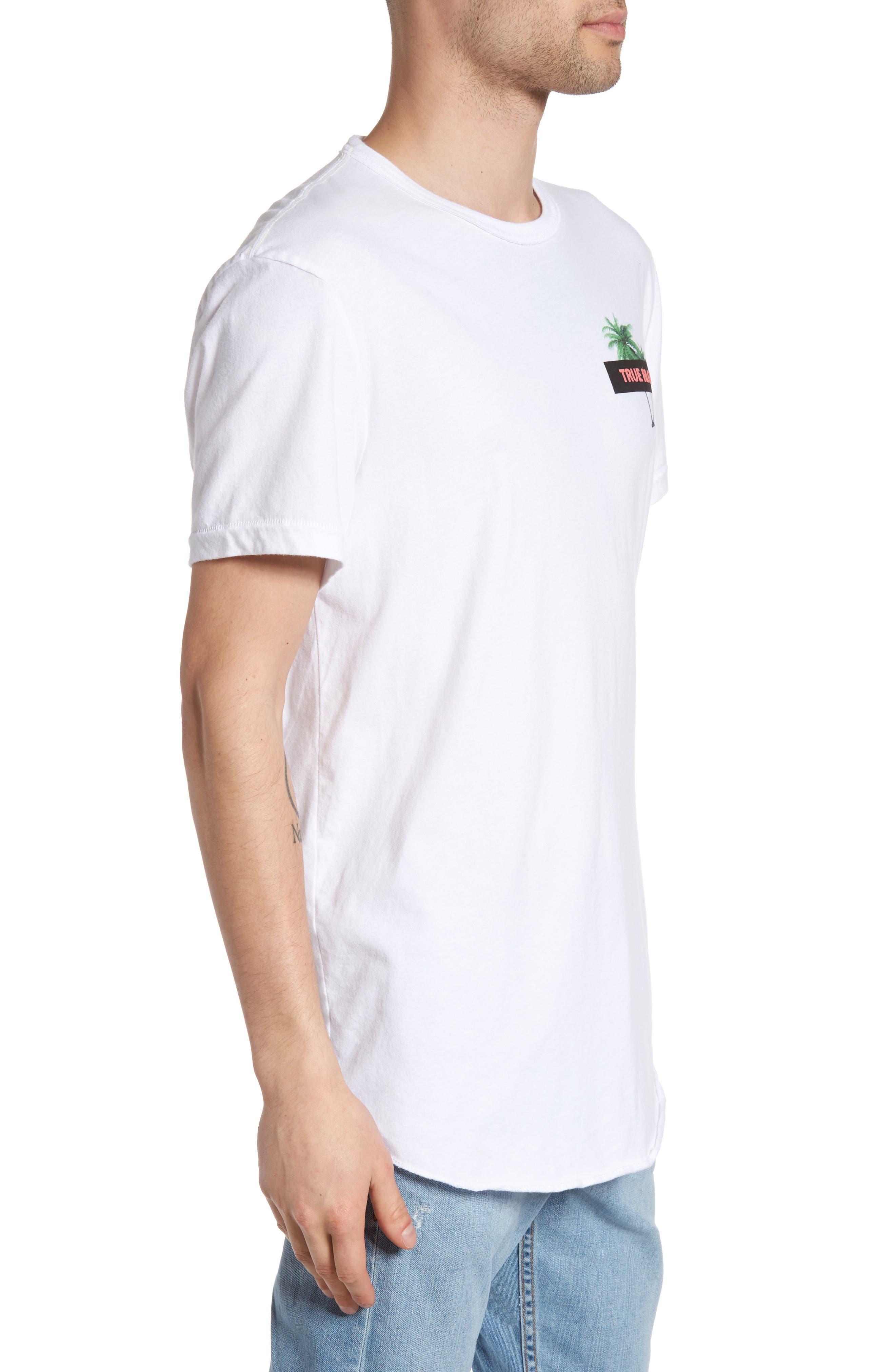 Twin Palms Graphic T-Shirt,                             Alternate thumbnail 3, color,                             101