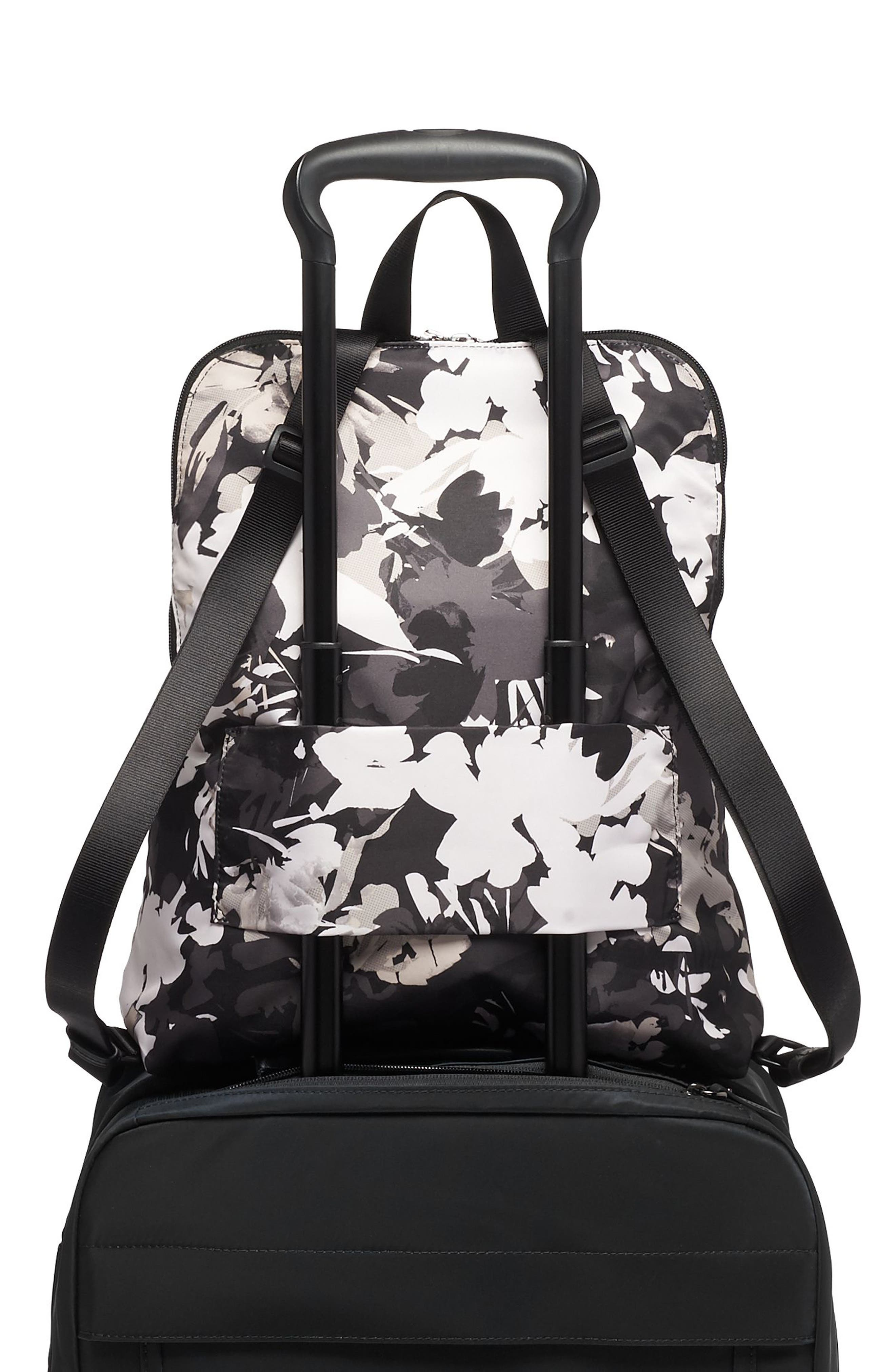 TUMI,                             Voyageur - Just in Case<sup>®</sup> Nylon Travel Backpack,                             Alternate thumbnail 4, color,                             AFRICAN FLORAL