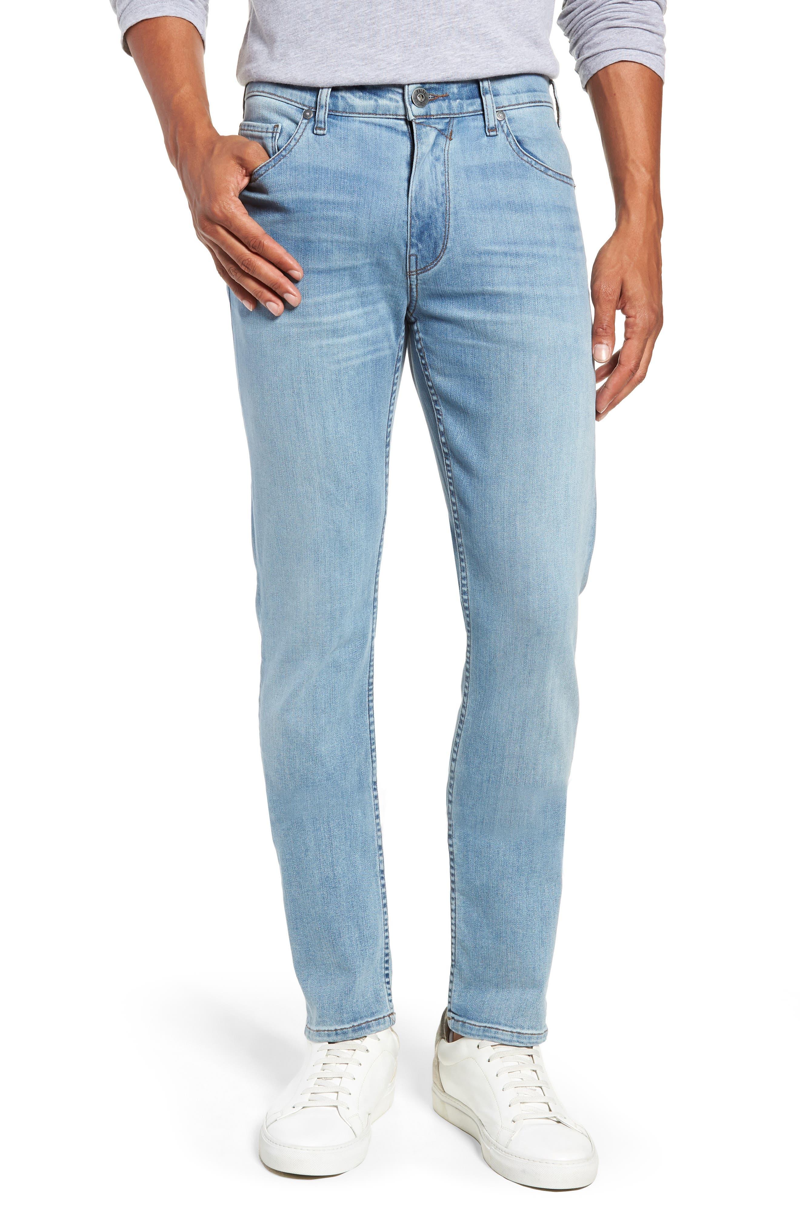 Transcend Vintage - Lennox Slim Fit Jeans,                             Main thumbnail 1, color,                             DENVER