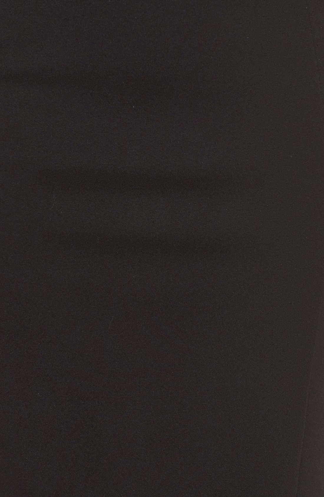 Stretch Sheath Dress,                             Alternate thumbnail 2, color,                             001