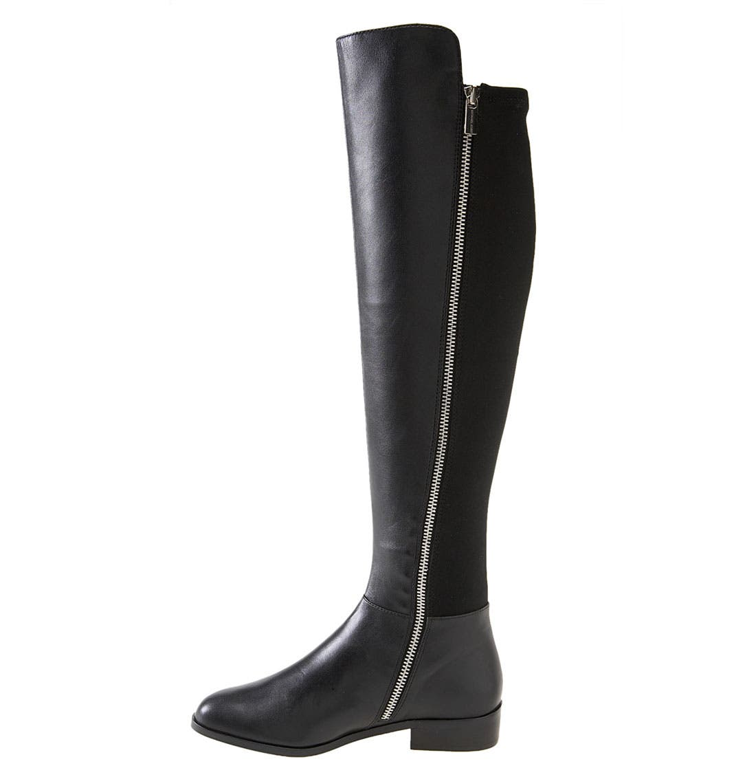 'Bromley' Over the Knee Boot,                             Alternate thumbnail 2, color,                             001