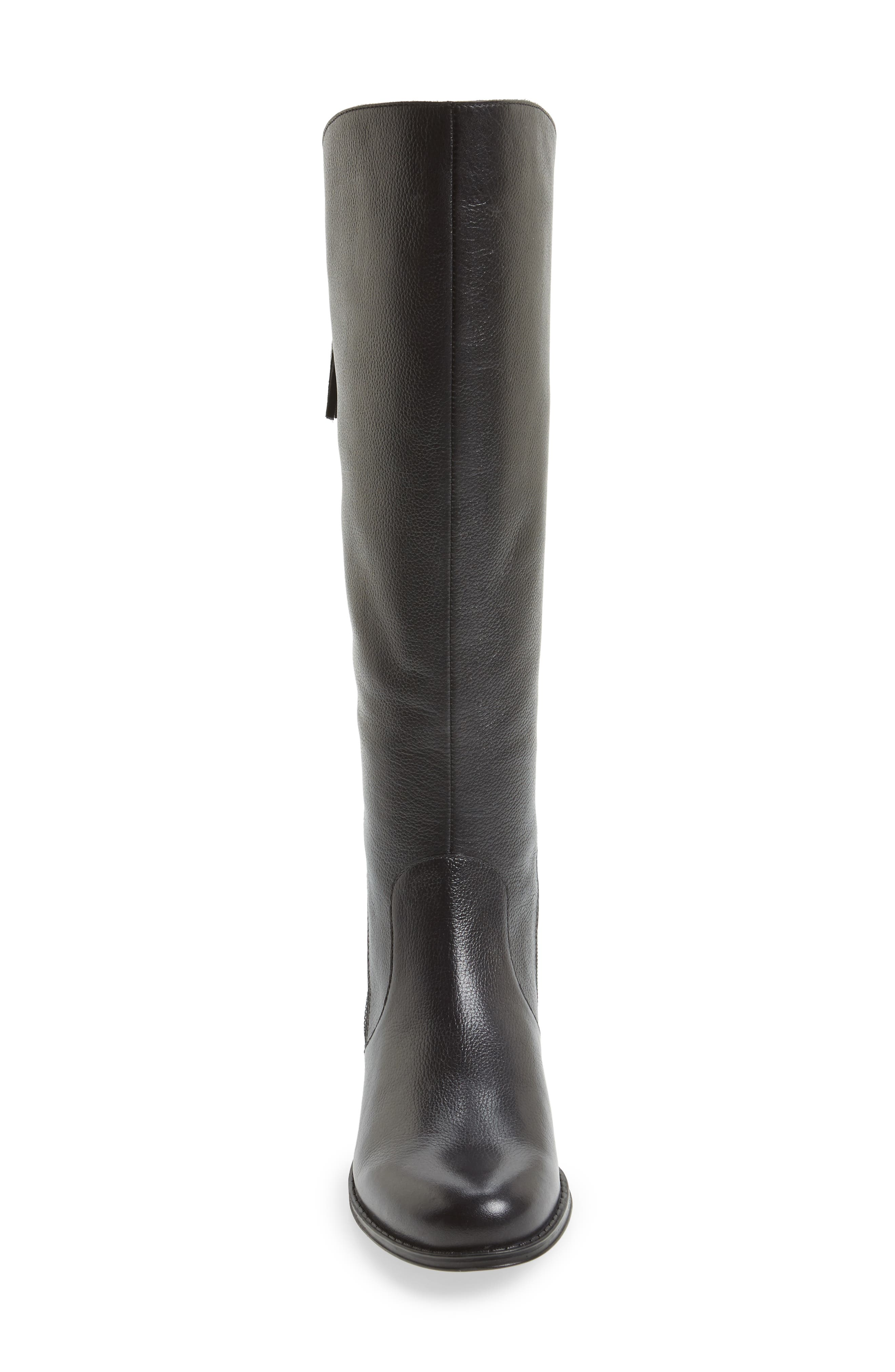 Jinnie Tall Boot,                             Alternate thumbnail 4, color,                             001