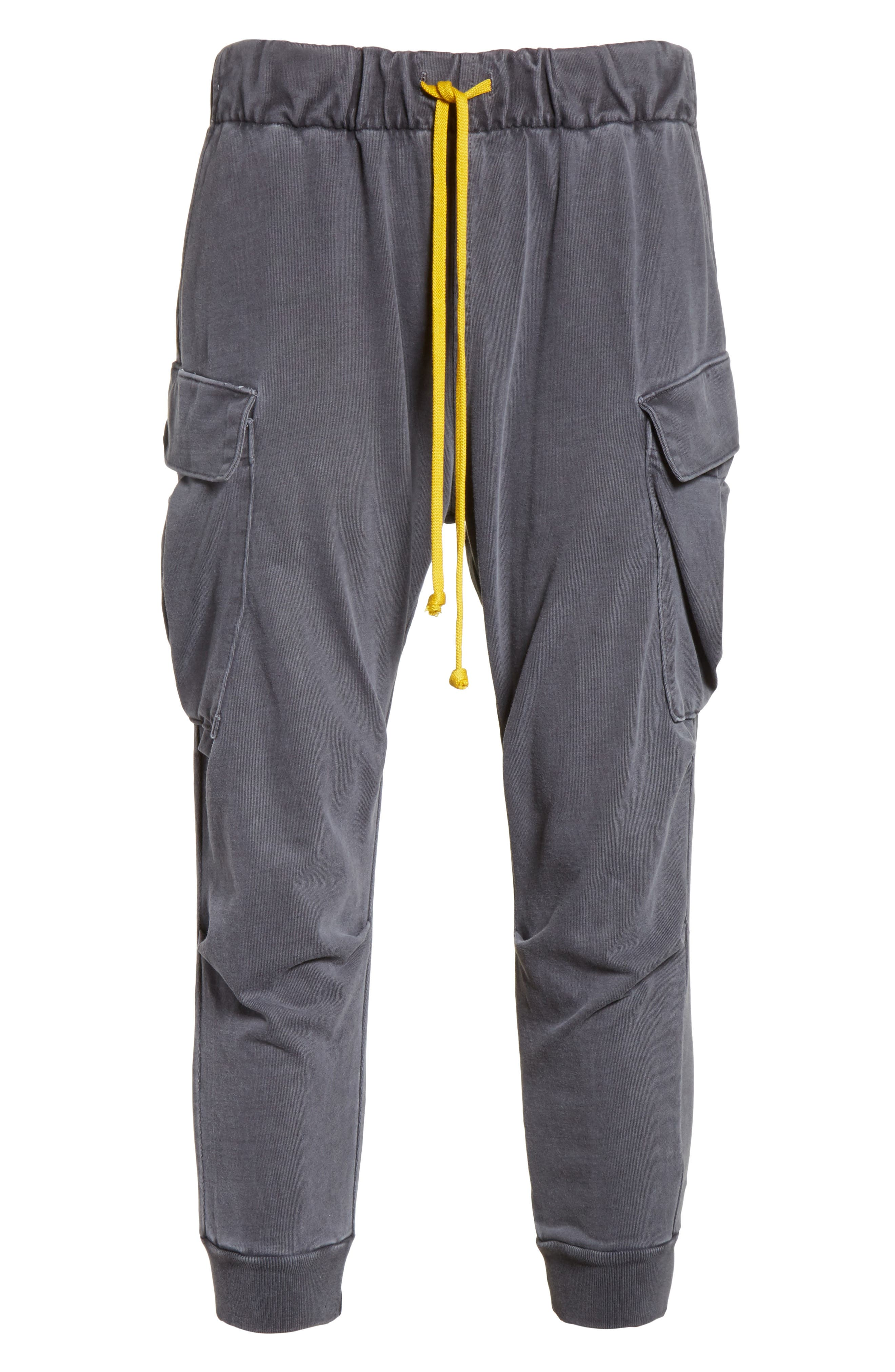 Geri Cropped Jogger Cargo Pants,                             Alternate thumbnail 6, color,                             989