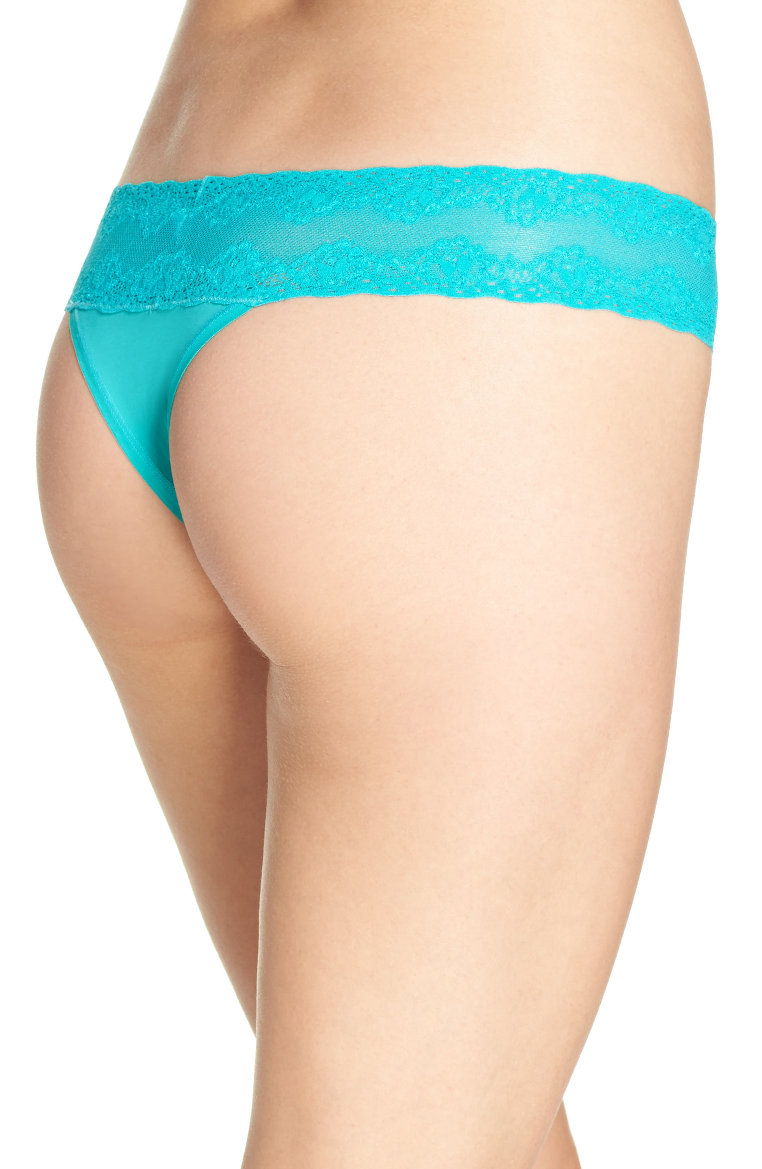 Bliss Perfection Thong,                             Alternate thumbnail 166, color,