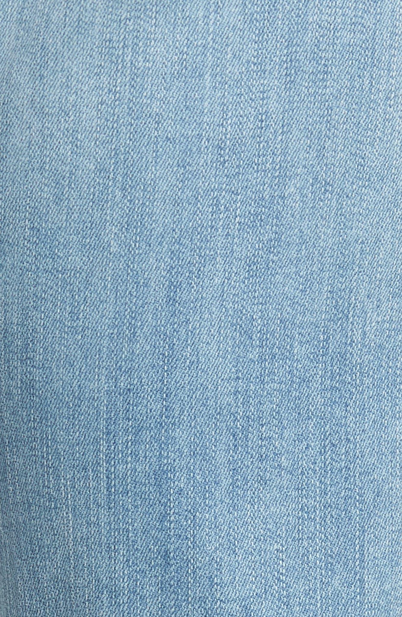 Transcend Vintage - Lennox Slim Fit Jeans,                             Alternate thumbnail 5, color,                             DENVER