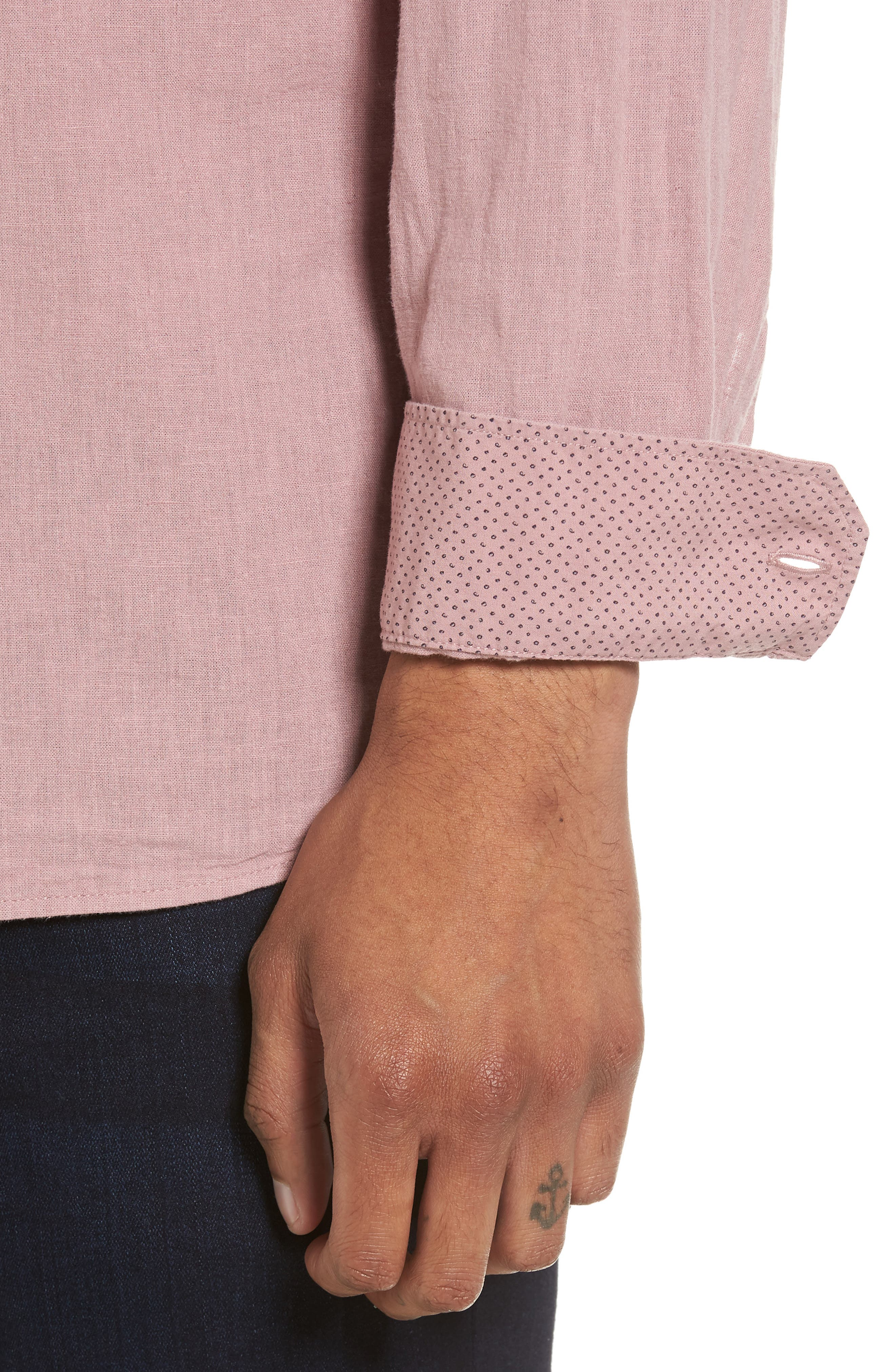 Carwash Modern Slim Fit Sport Shirt,                             Alternate thumbnail 12, color,