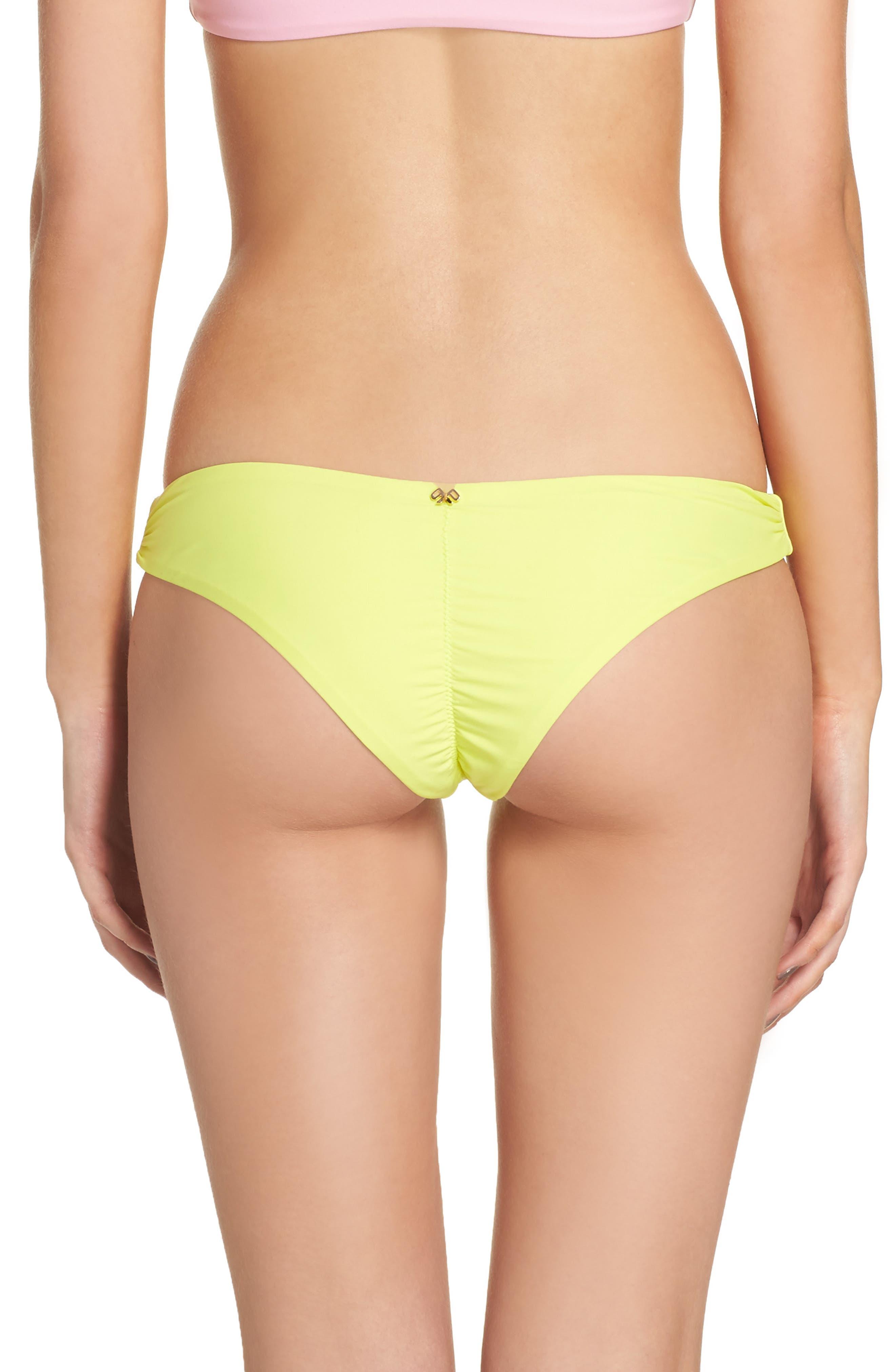 Ruched Bikini Bottoms,                             Alternate thumbnail 2, color,                             700