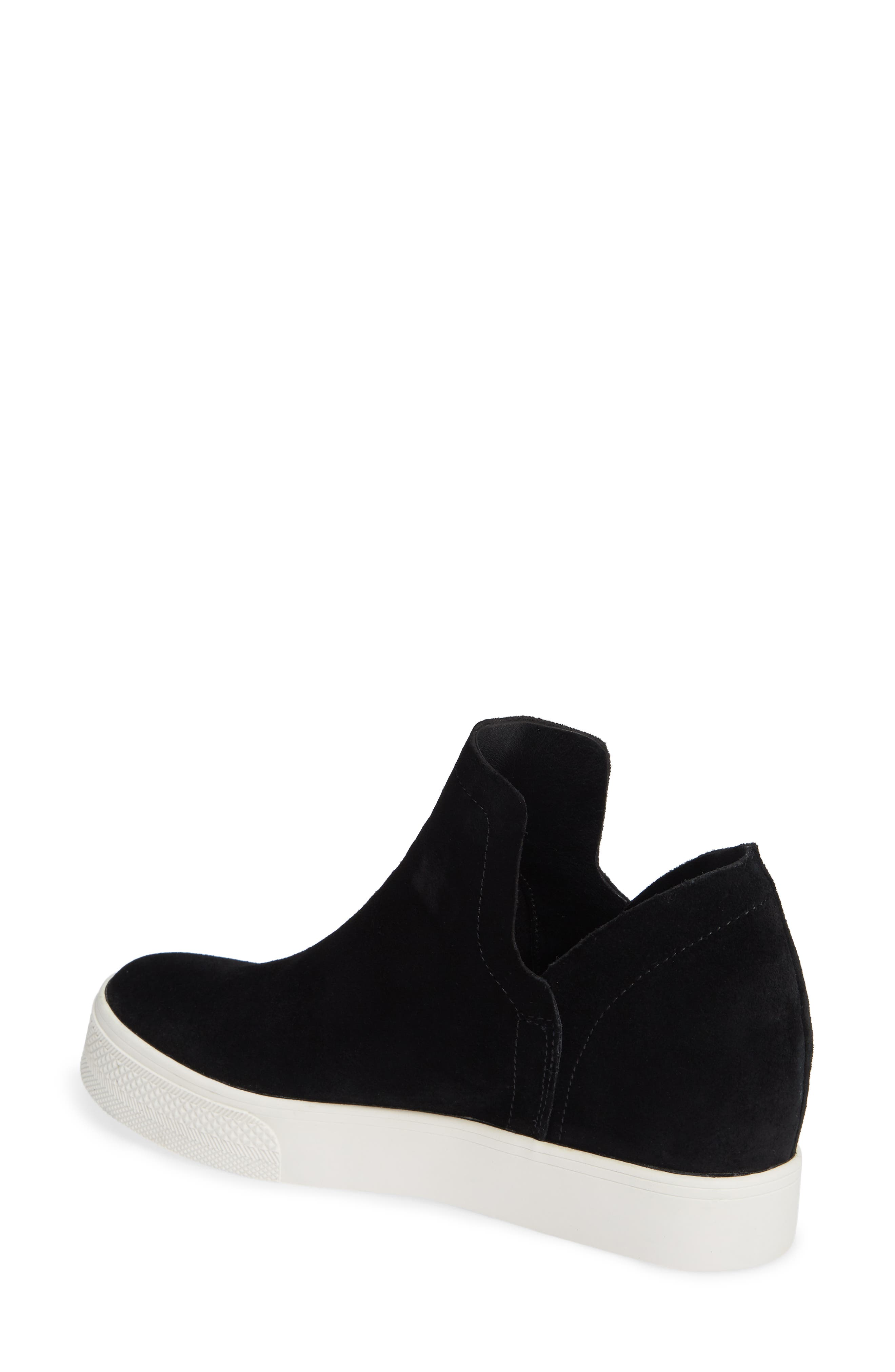 Wrangle Sneaker,                             Alternate thumbnail 2, color,                             BLACK SUEDE