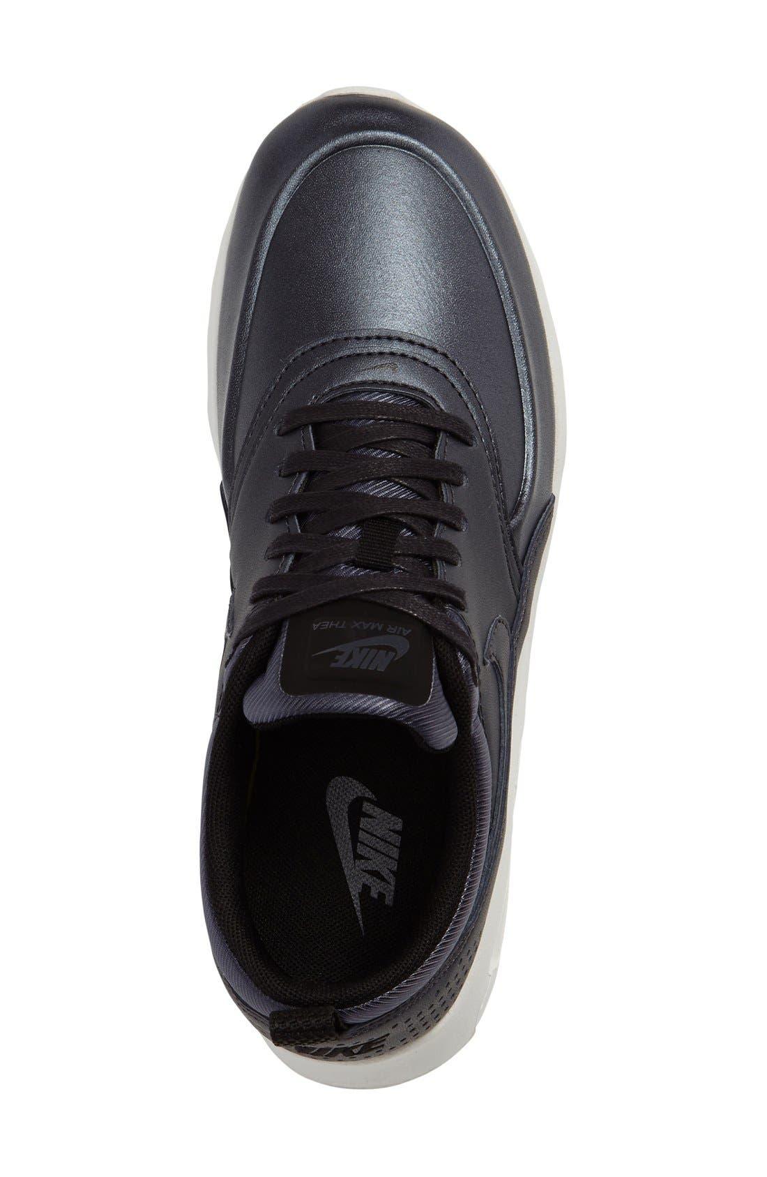 Air Max Thea SE Sneaker,                             Alternate thumbnail 3, color,                             002