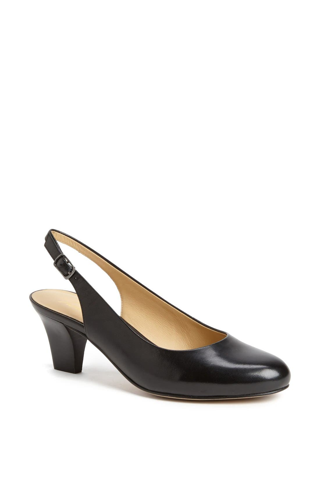 'Pella' Slingback Pump,                         Main,                         color, 001