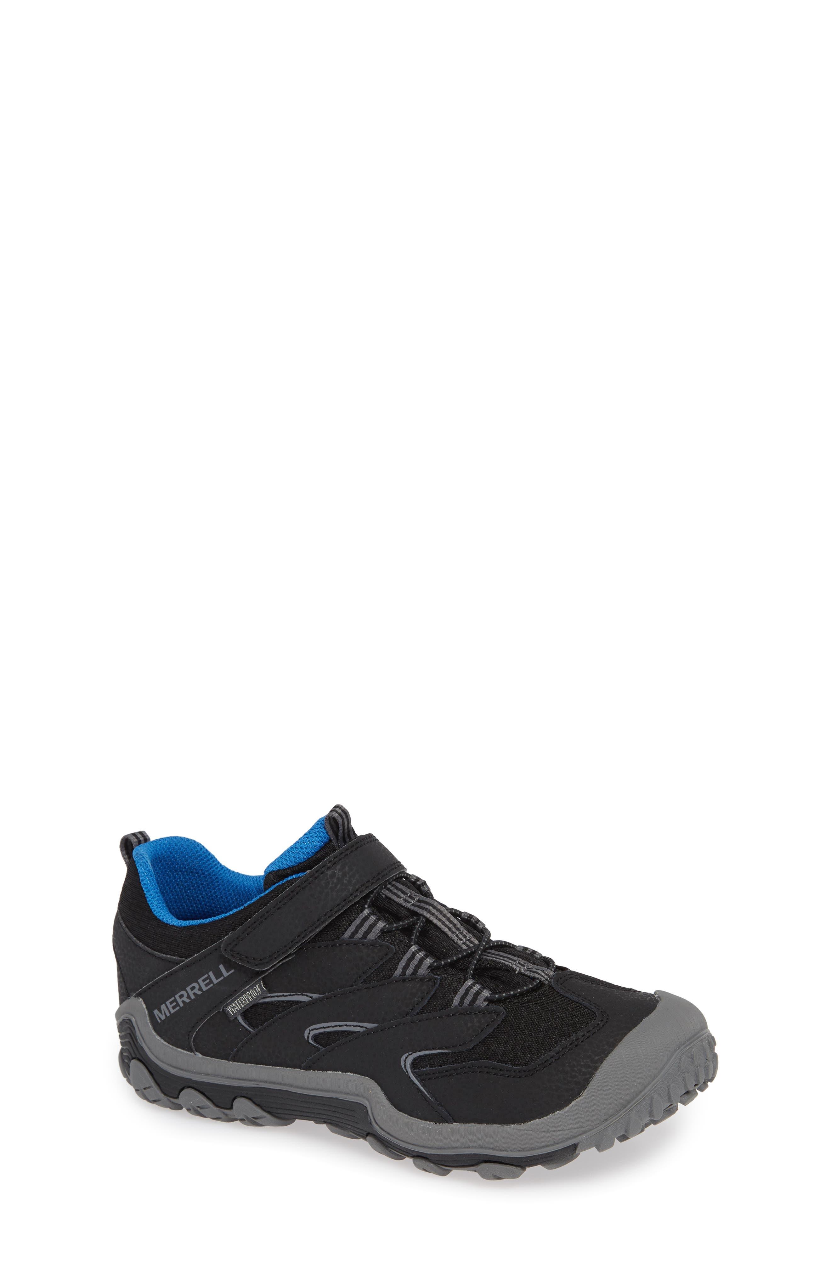 Chameleon 7 Waterproof Sneaker,                             Main thumbnail 1, color,                             BLACK