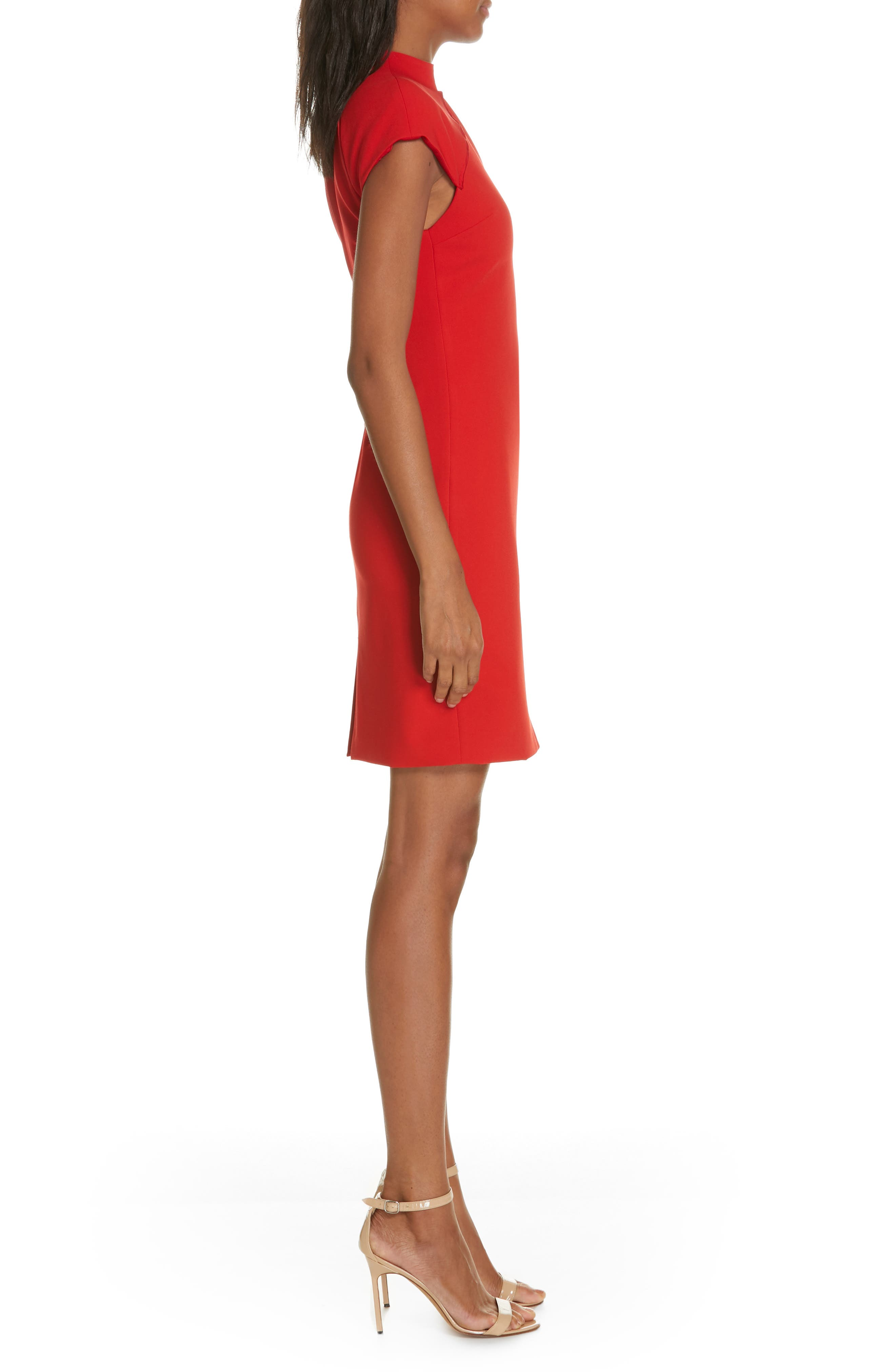 Latisha Fitted Dress,                             Alternate thumbnail 3, color,                             626