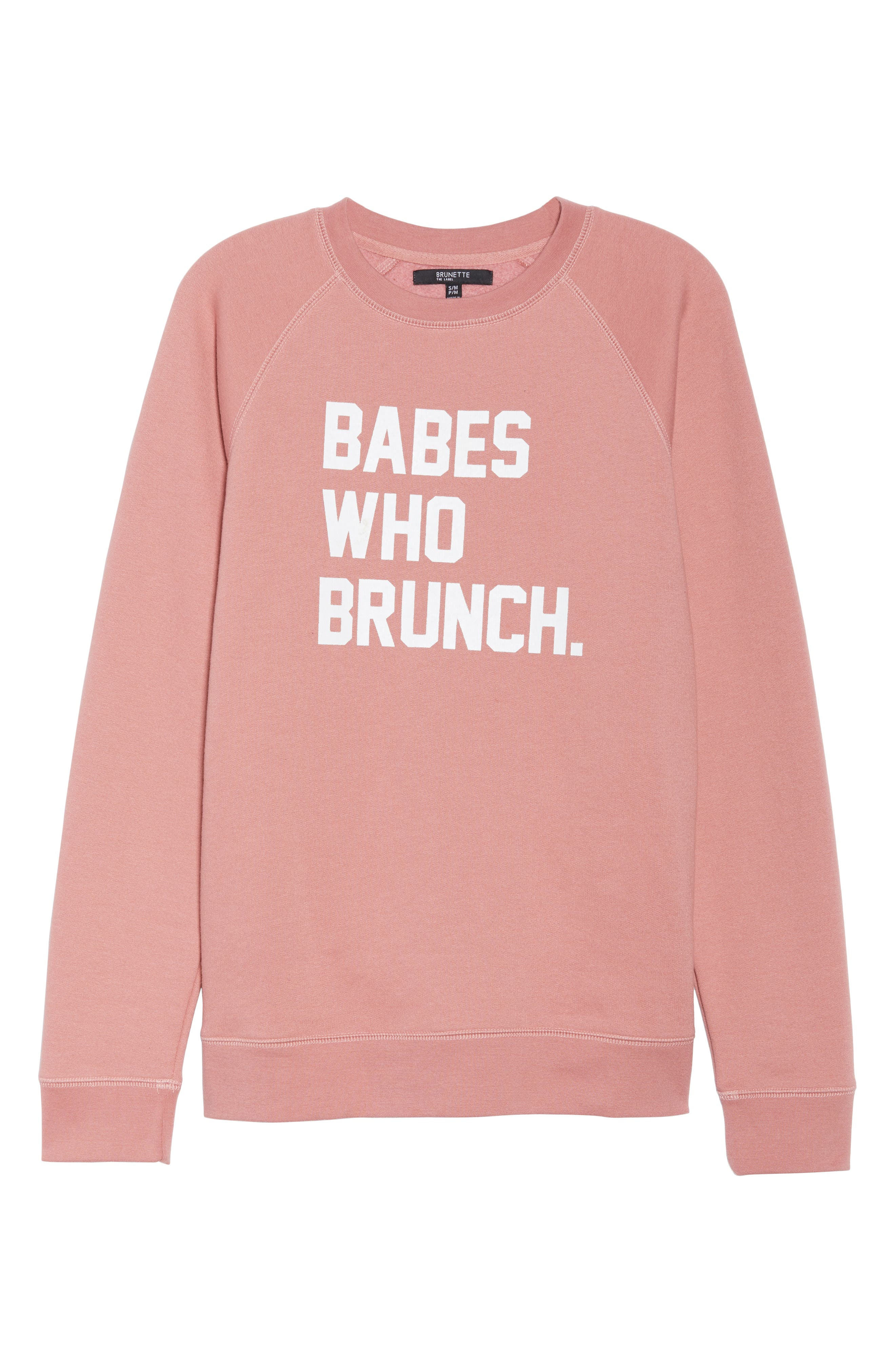 Babes Who Brunch Sweatshirt,                             Alternate thumbnail 6, color,                             955