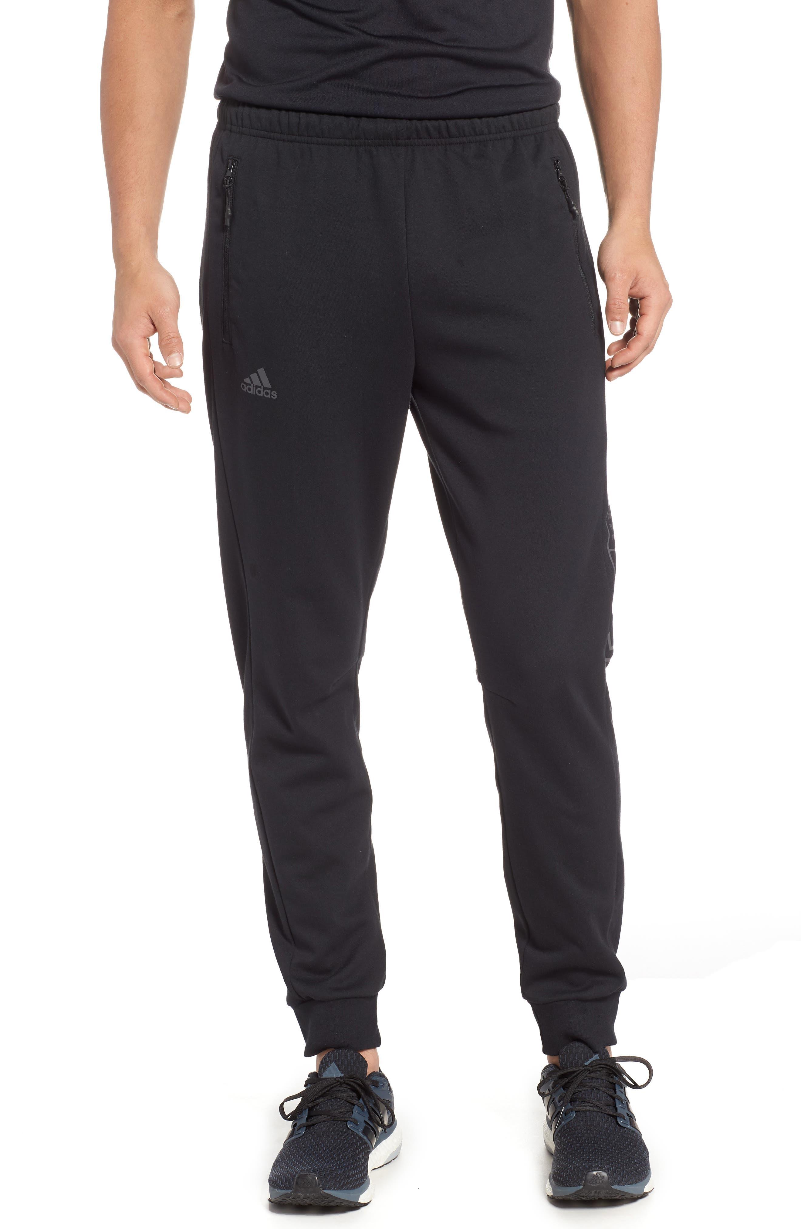3-Stripes Track Pants,                         Main,                         color, BLACK