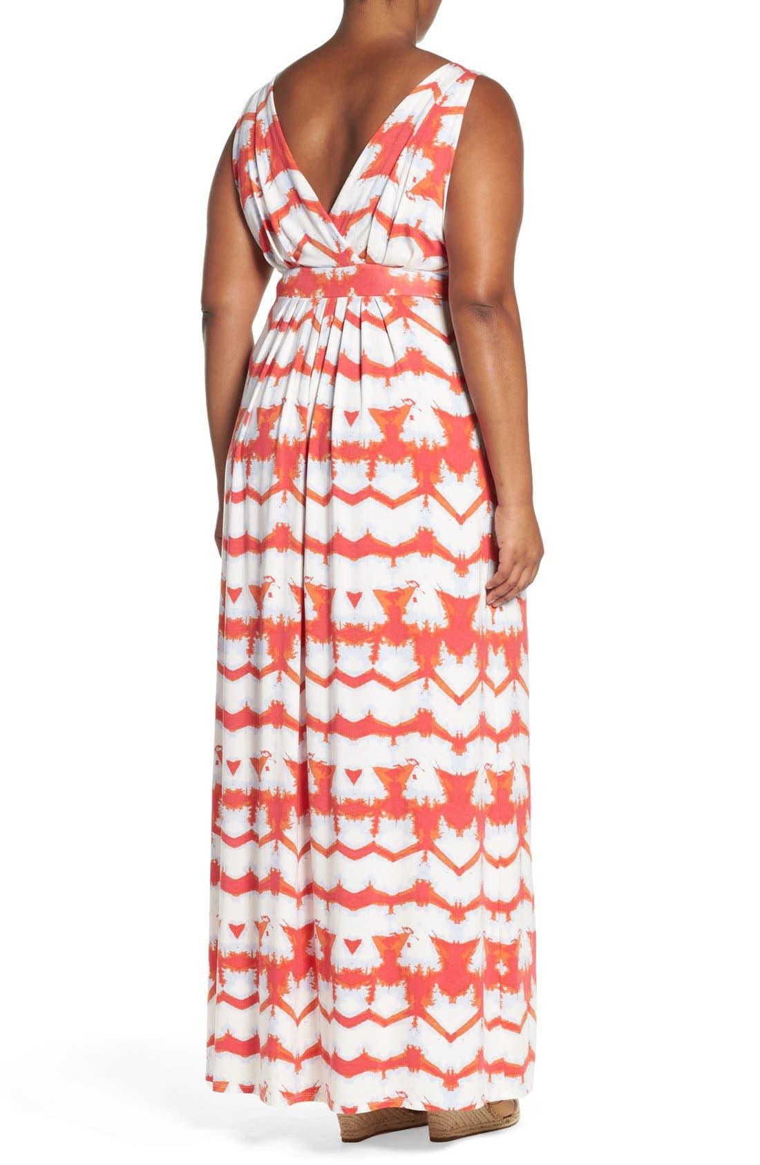 Chloe Empire Waist Maxi Dress,                             Alternate thumbnail 72, color,