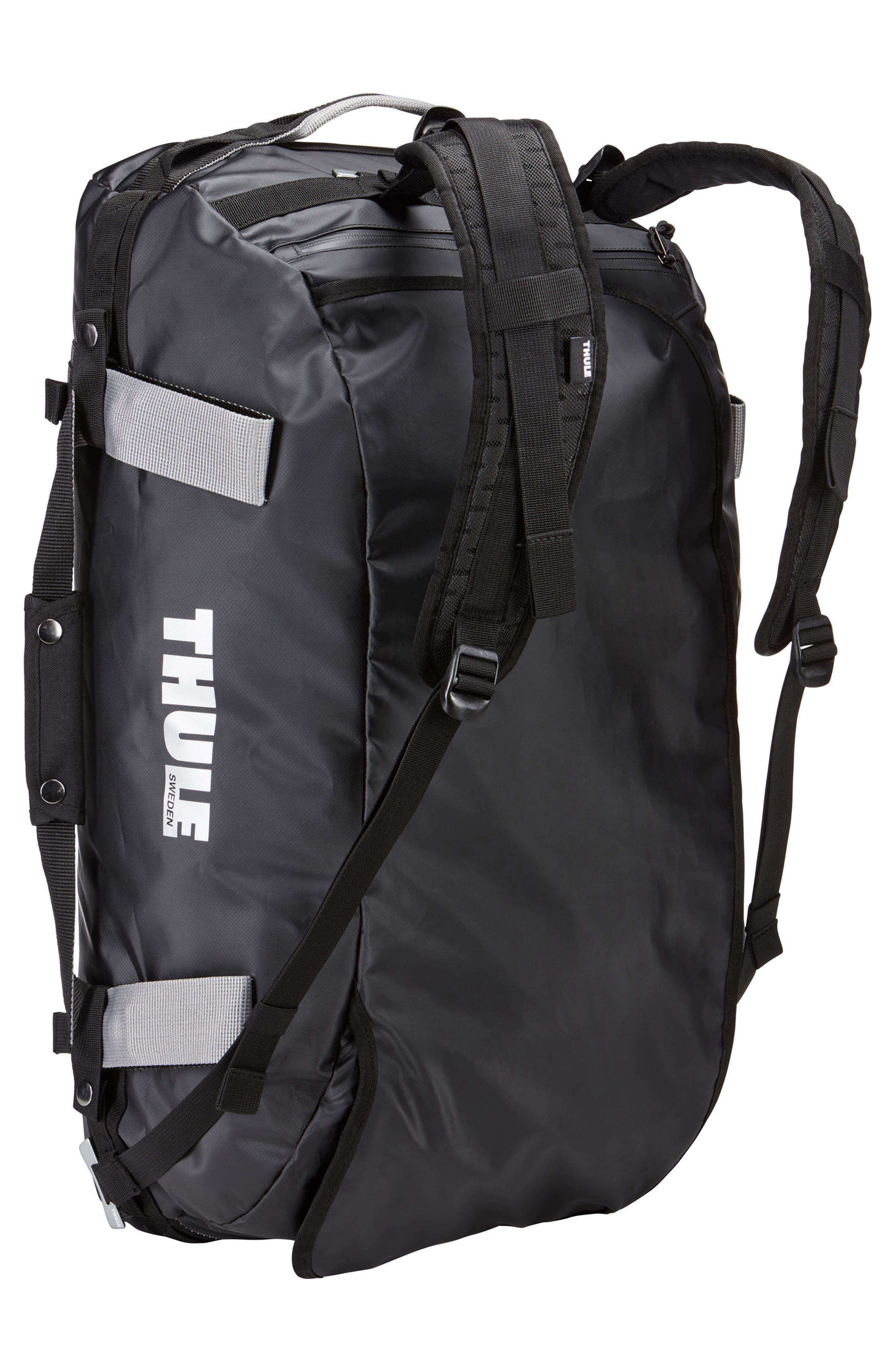 Chasm 70-Liter Convertible Duffel Bag,                             Alternate thumbnail 2, color,                             BLACK