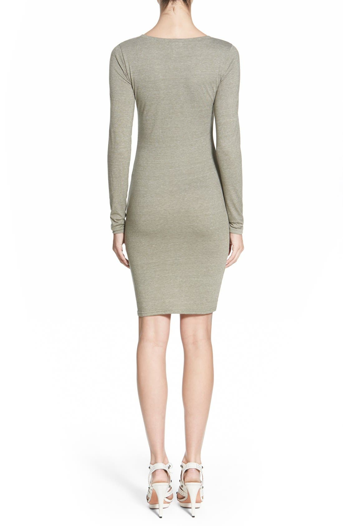 Ruched Long Sleeve Dress,                             Alternate thumbnail 62, color,