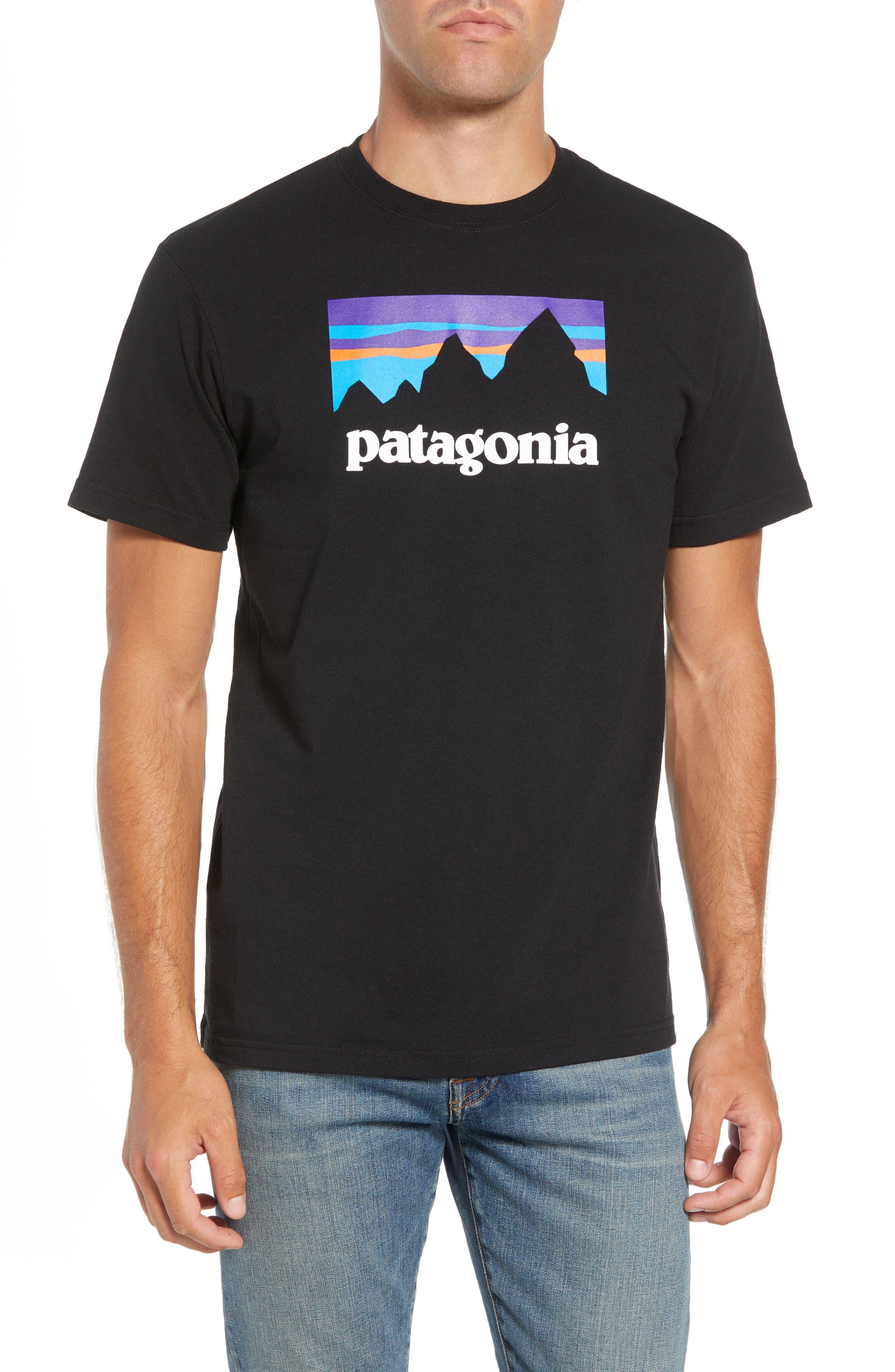 Shop Sticker Responsibili-Tee T-Shirt,                             Main thumbnail 1, color,                             BLACK