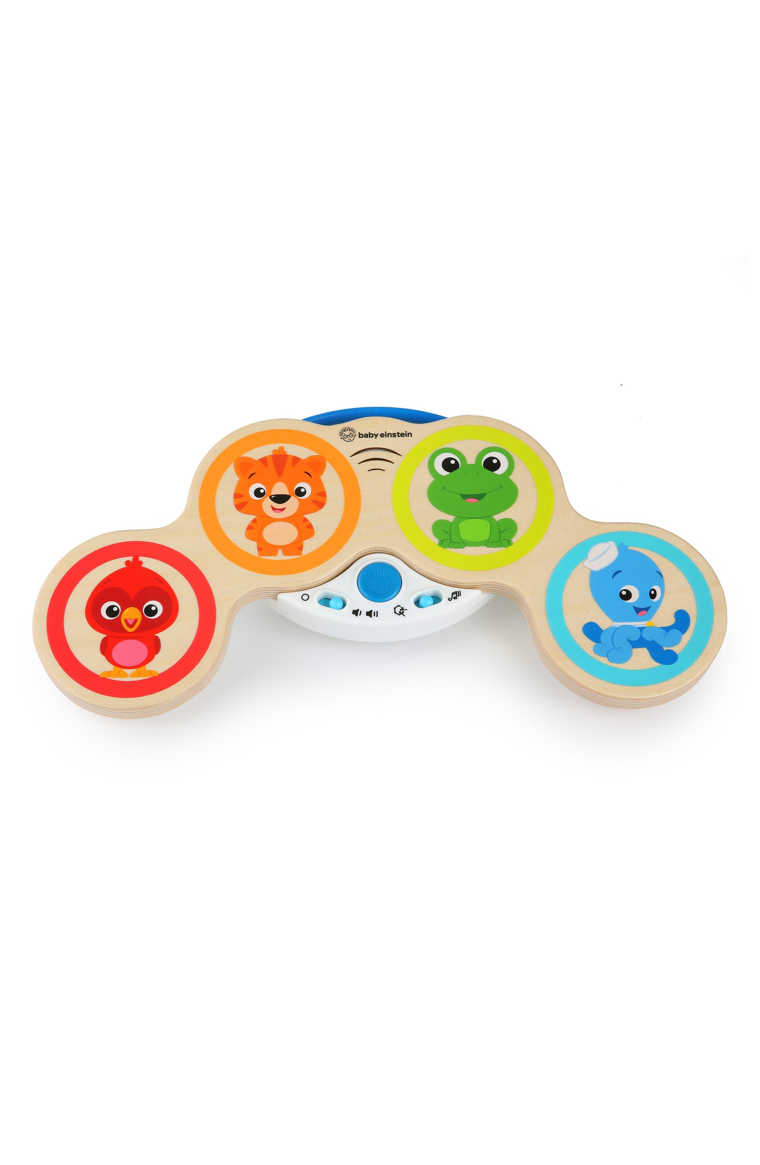 Infant Baby Einstein Hape Magic Touch Drums(TM) Wooden Musical Toy