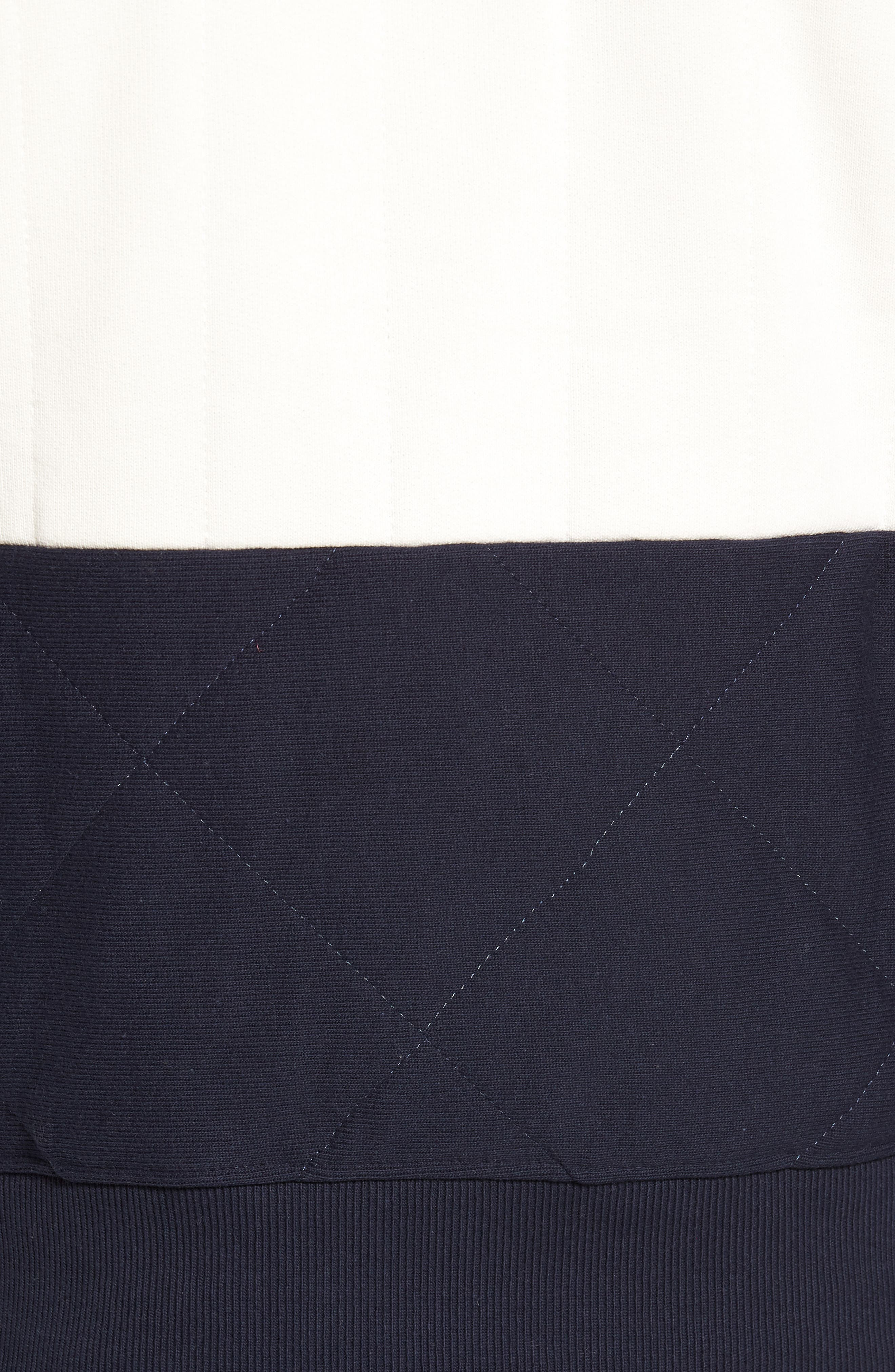 Quilted Colorblock Sweatshirt,                             Alternate thumbnail 6, color,                             930