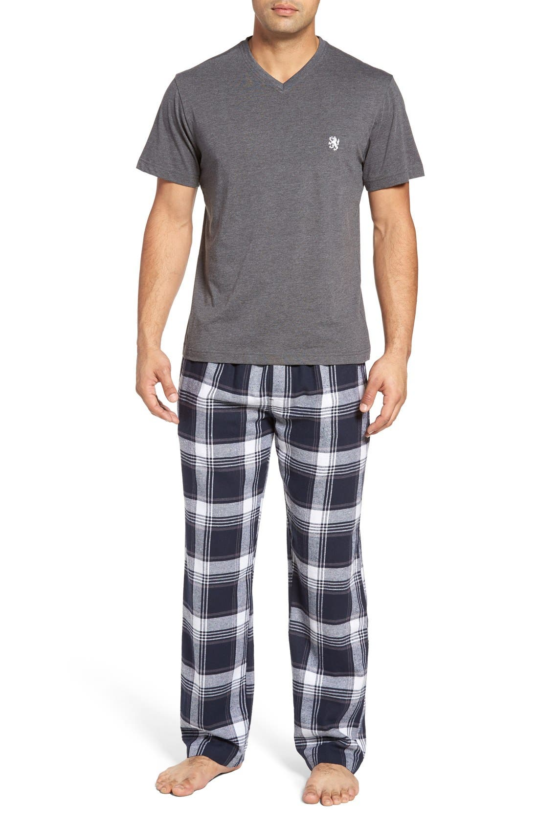 T-Shirt & Lounge Pants,                         Main,                         color, 035