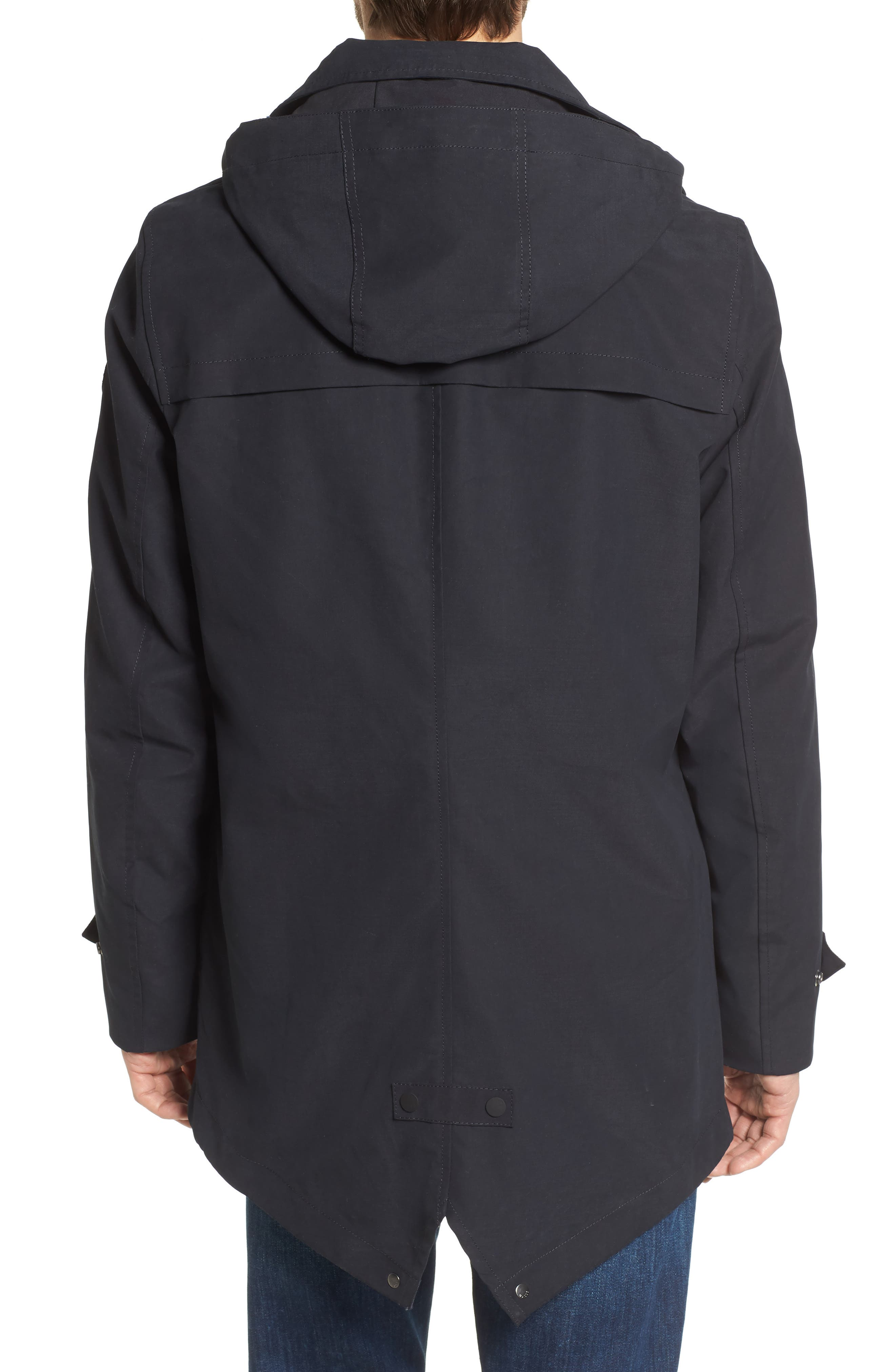 Classic Hooded Parka,                             Alternate thumbnail 3, color,