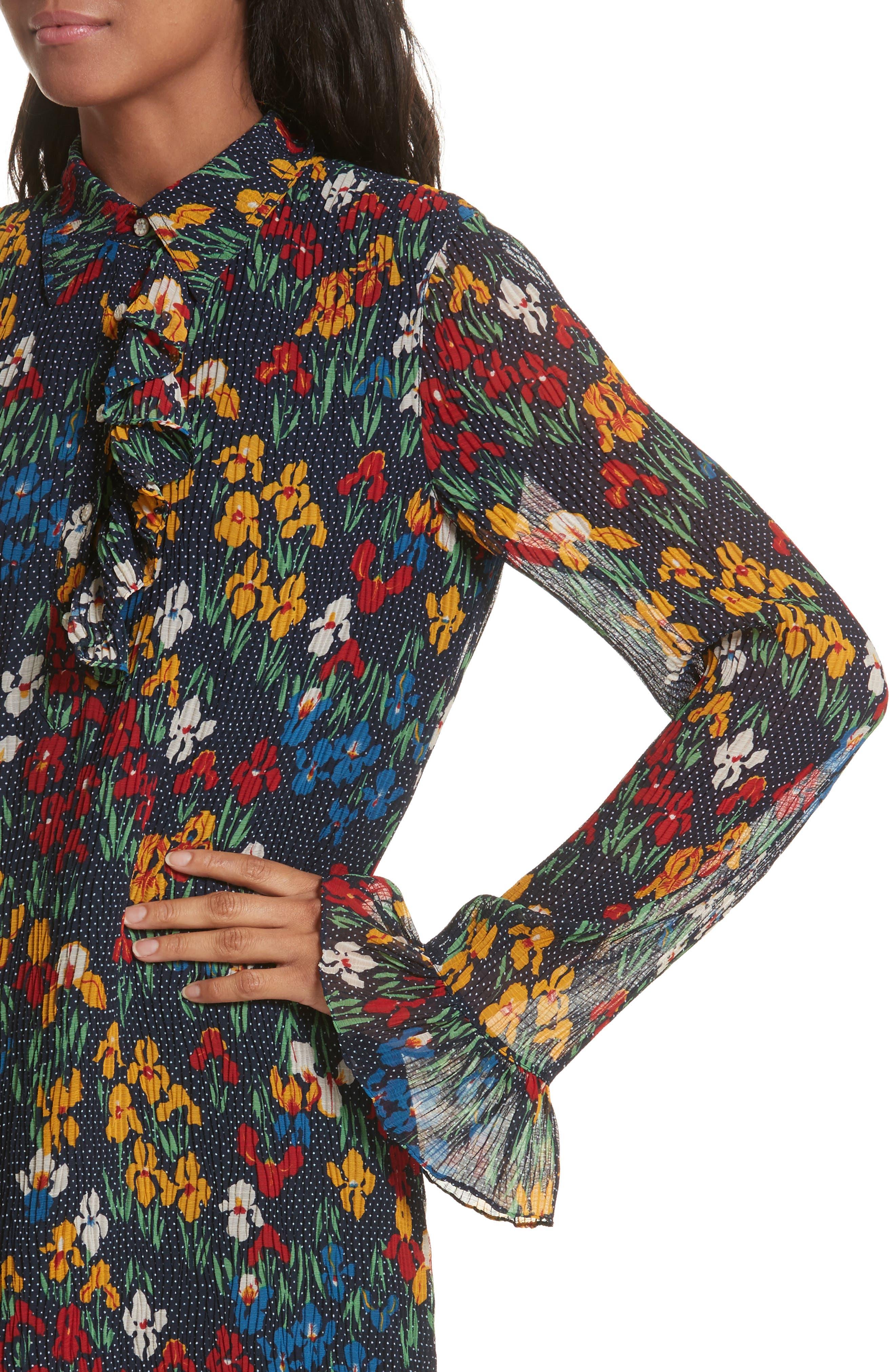 Livia Shirtdress,                             Alternate thumbnail 4, color,                             462