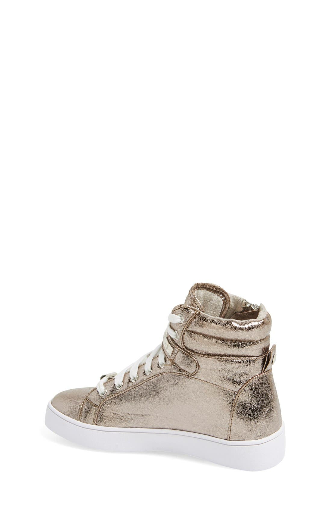 'Ivy Rory' High Top Sneaker,                             Alternate thumbnail 7, color,