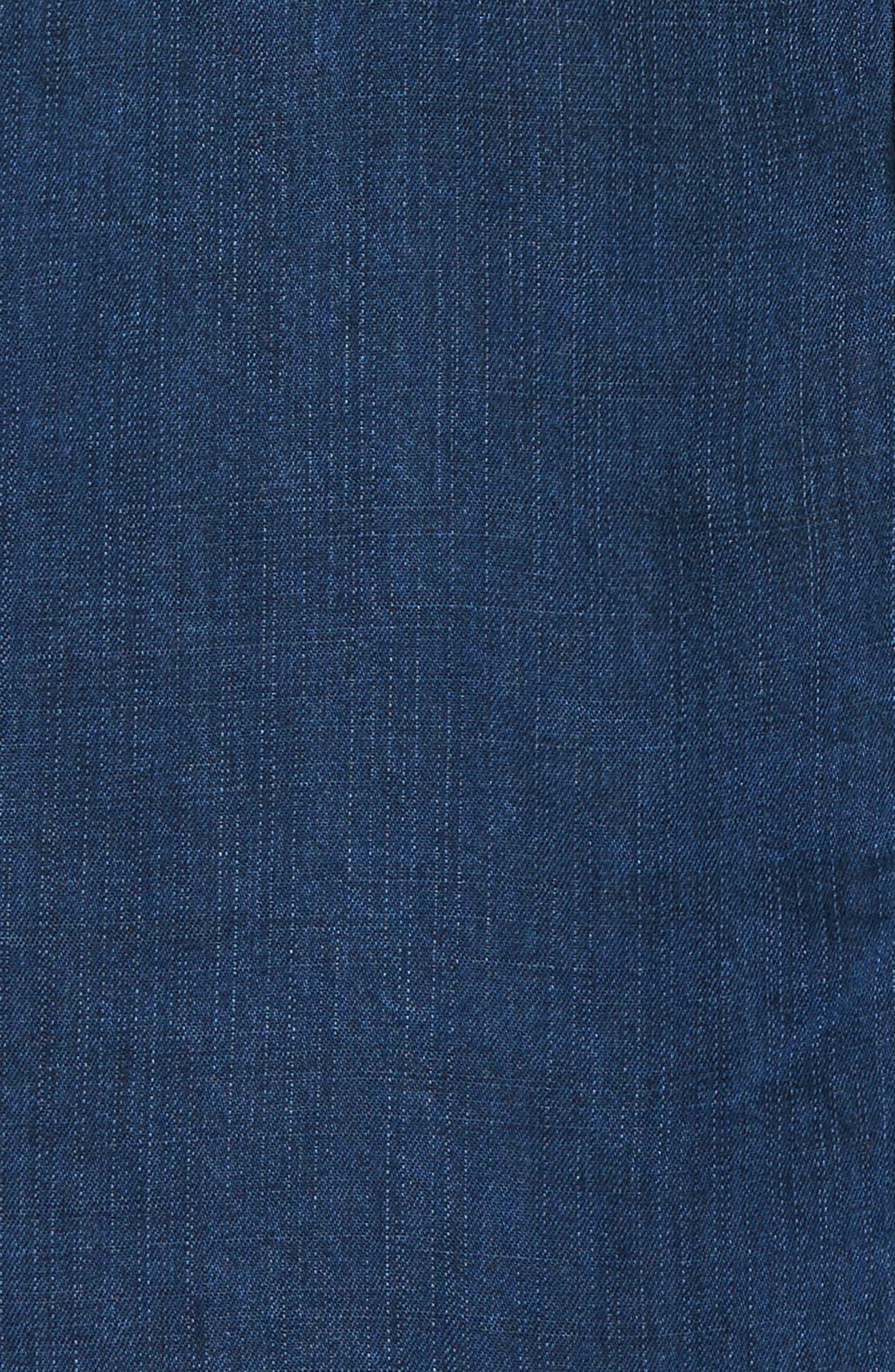 Ashland Chambray Shirtdress,                             Alternate thumbnail 5, color,                             404