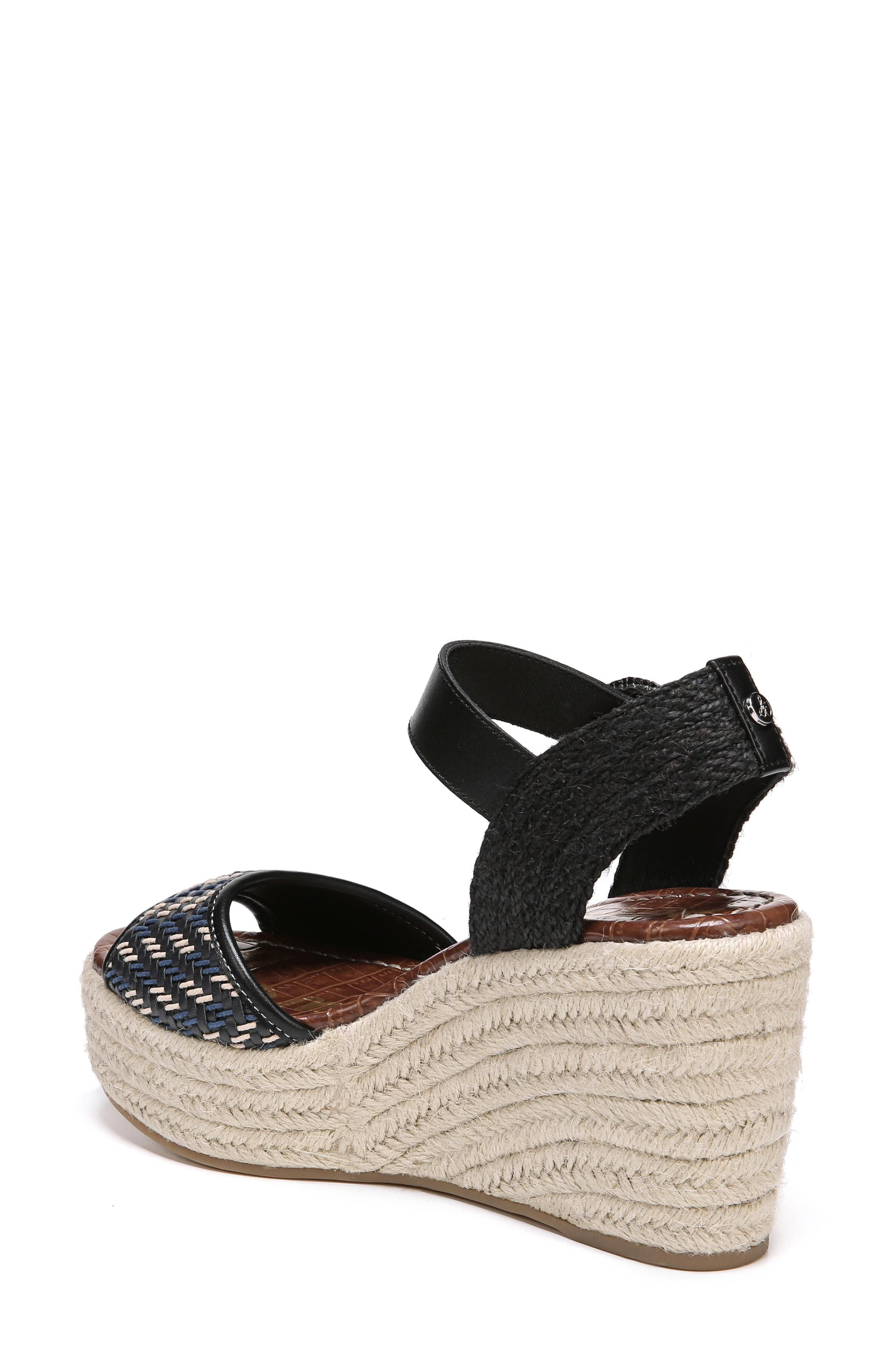 Dimitree Wedge,                             Alternate thumbnail 2, color,                             NAVY/ BLACK