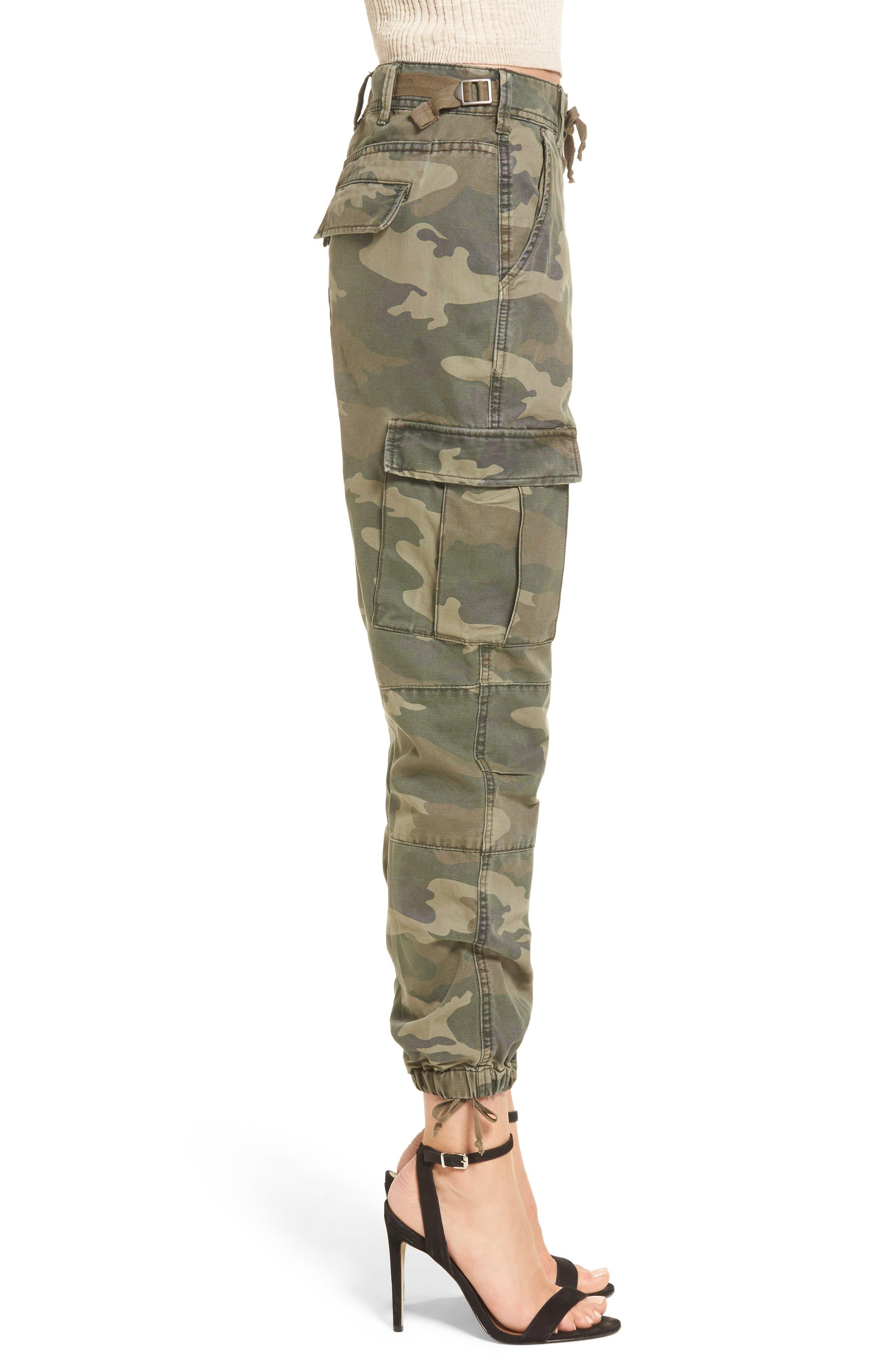Sullivan Army Cargo Jogger Pants,                             Alternate thumbnail 3, color,                             300