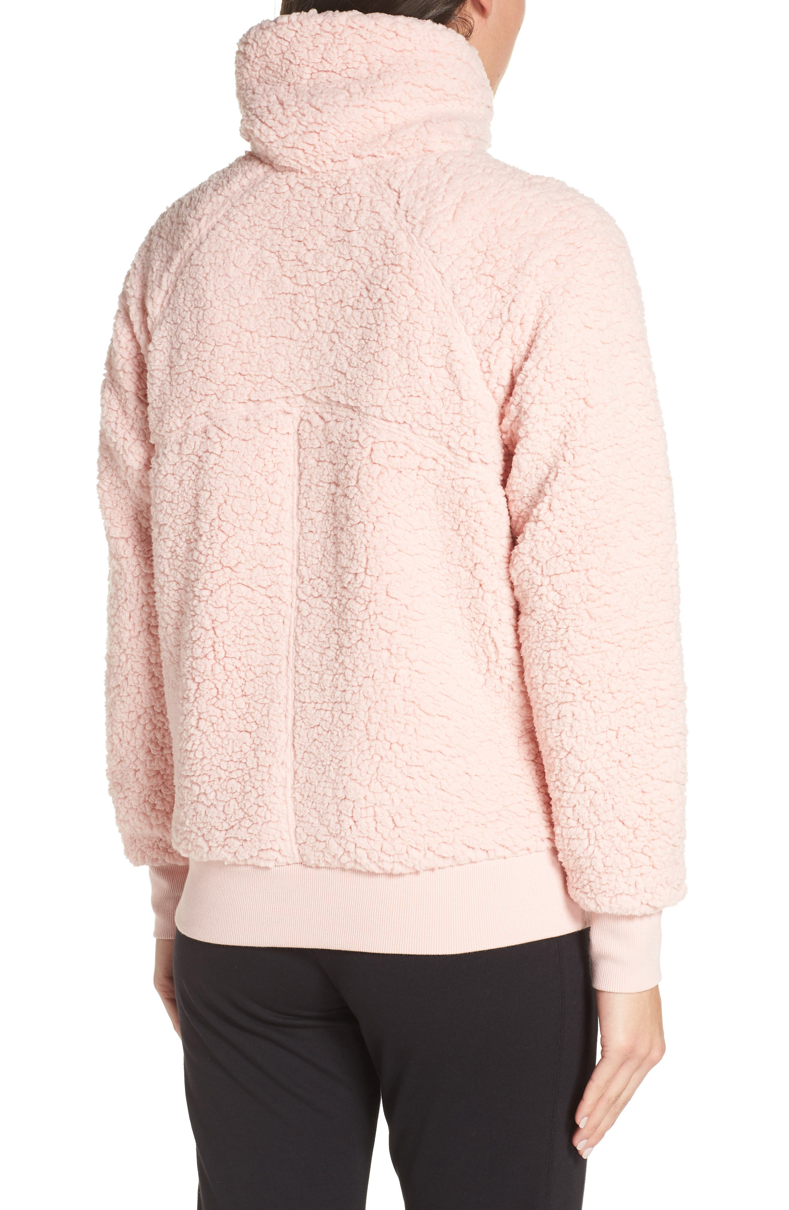 Shear Up Pullover,                             Alternate thumbnail 2, color,                             PINK PEACHSKIN