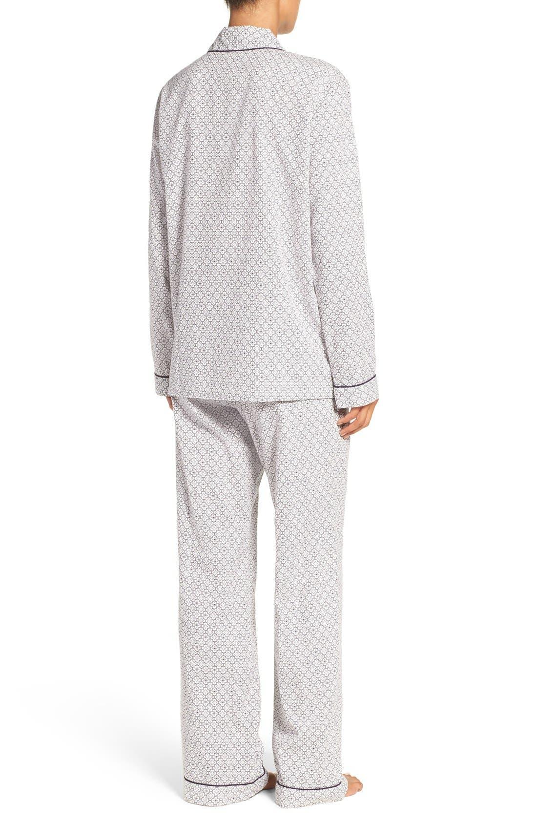 Cotton Twill Pajamas,                             Alternate thumbnail 35, color,