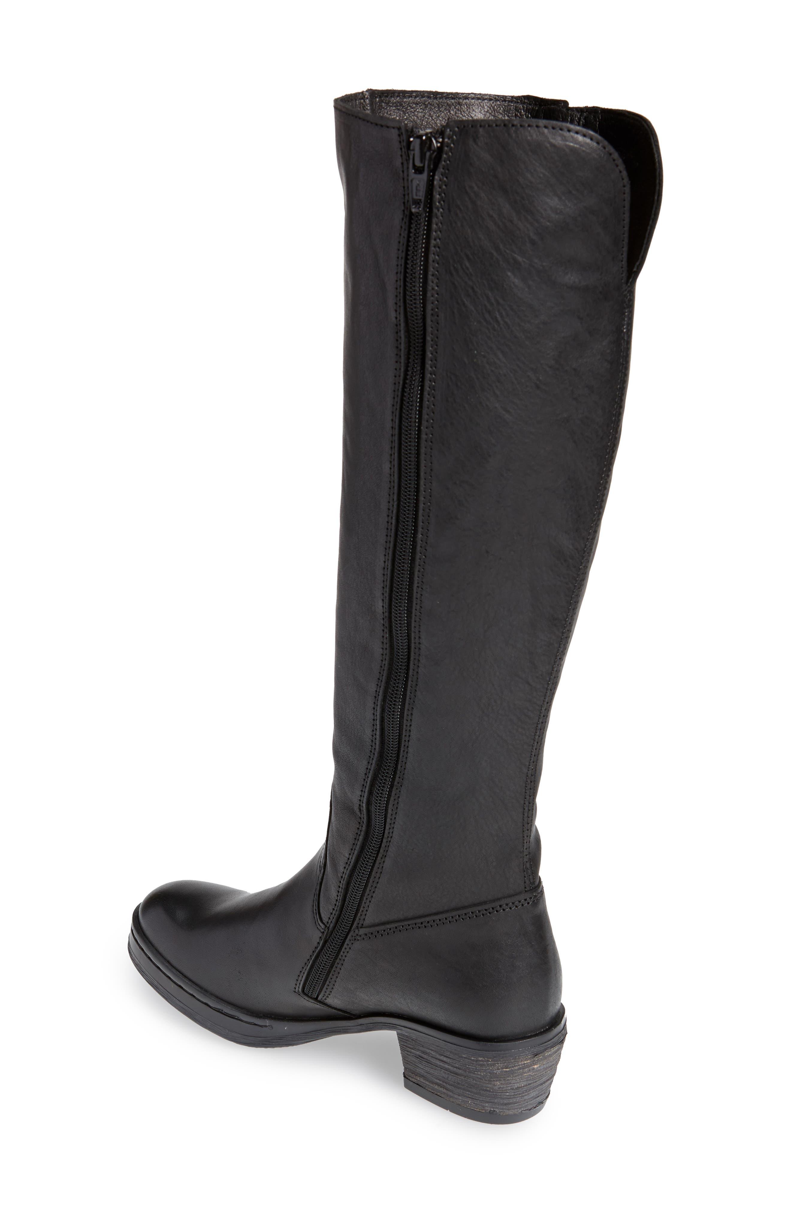 Chom Tall Boot,                             Alternate thumbnail 2, color,                             BLACK