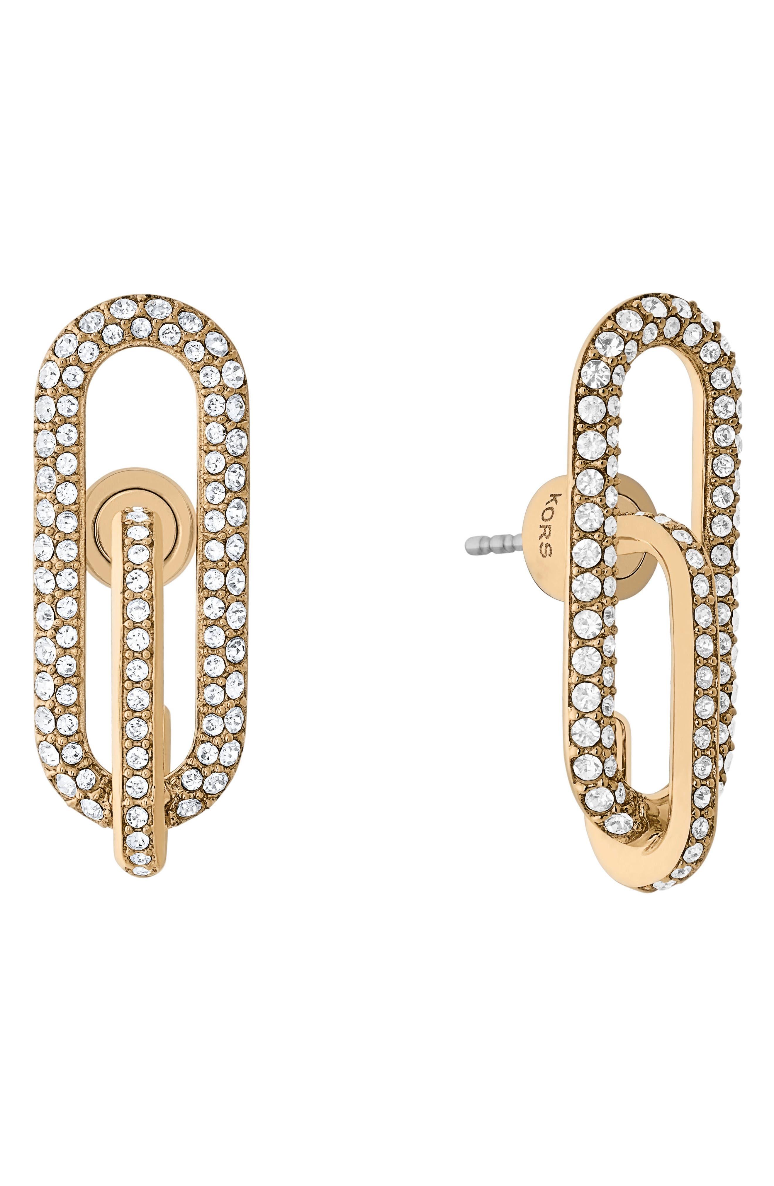 Crystal Stud Earrings,                         Main,                         color, 710