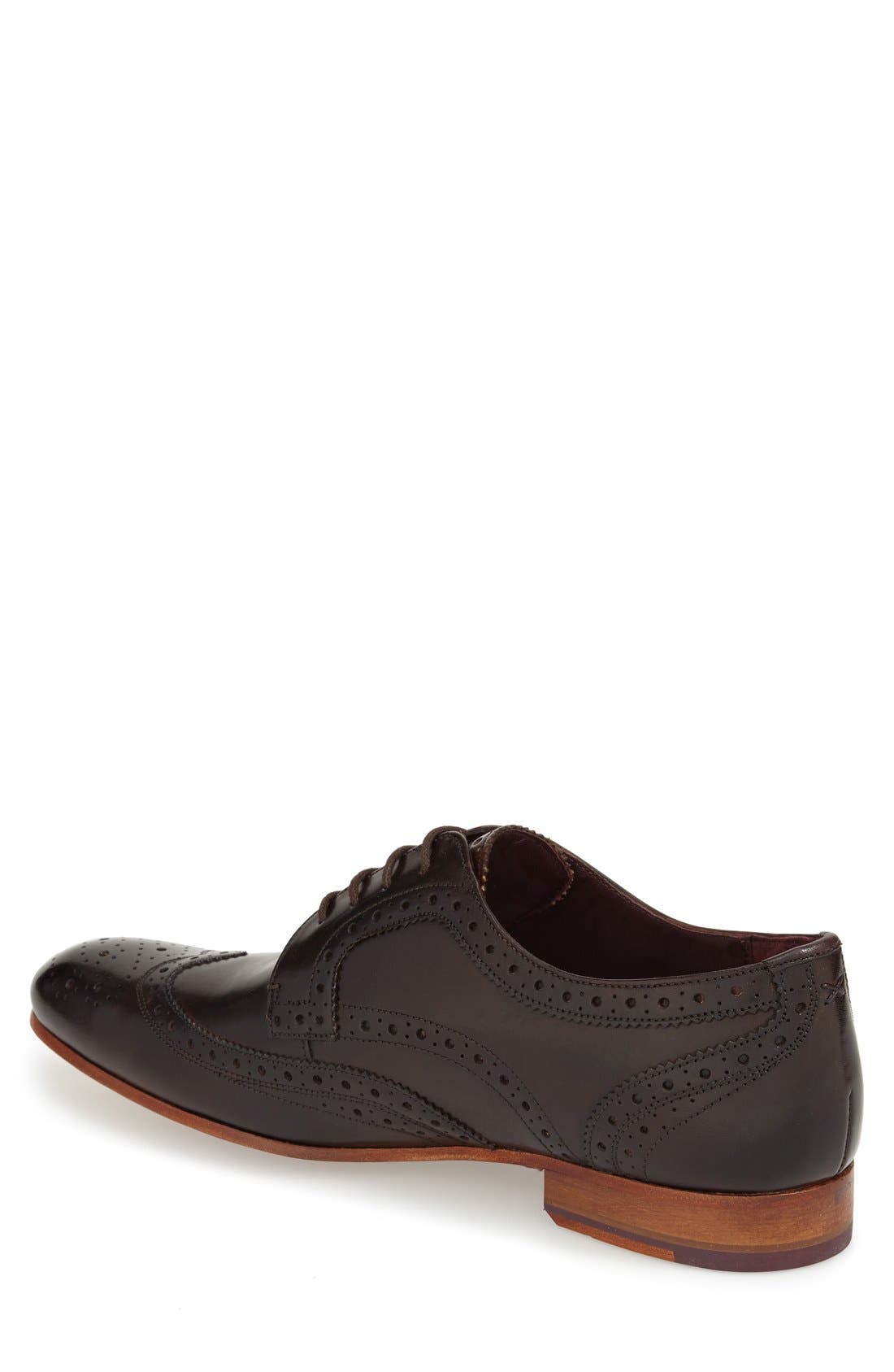 'Gryene' Wingtip Oxford,                             Alternate thumbnail 6, color,