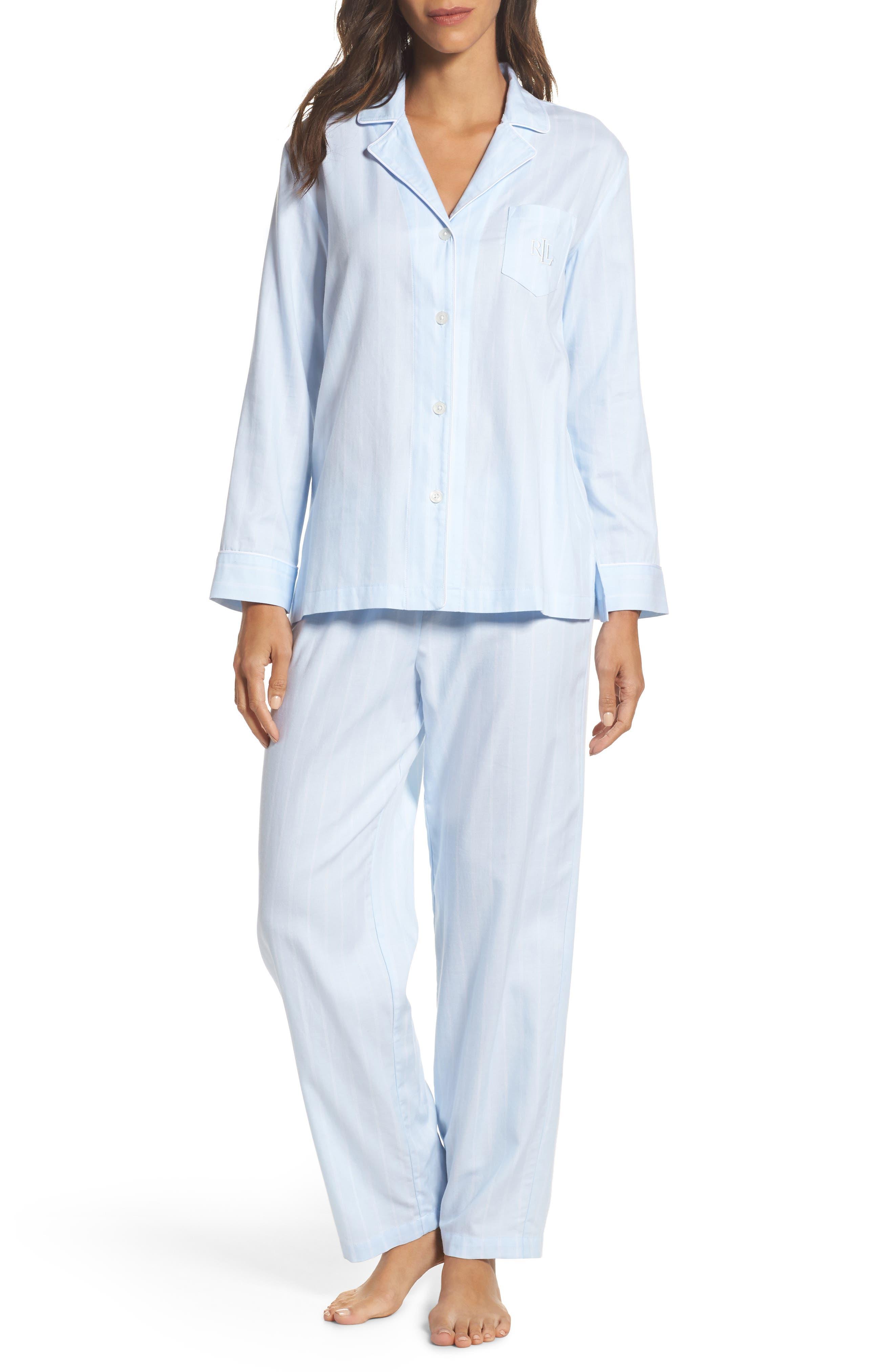 Cotton Pajamas,                             Main thumbnail 2, color,