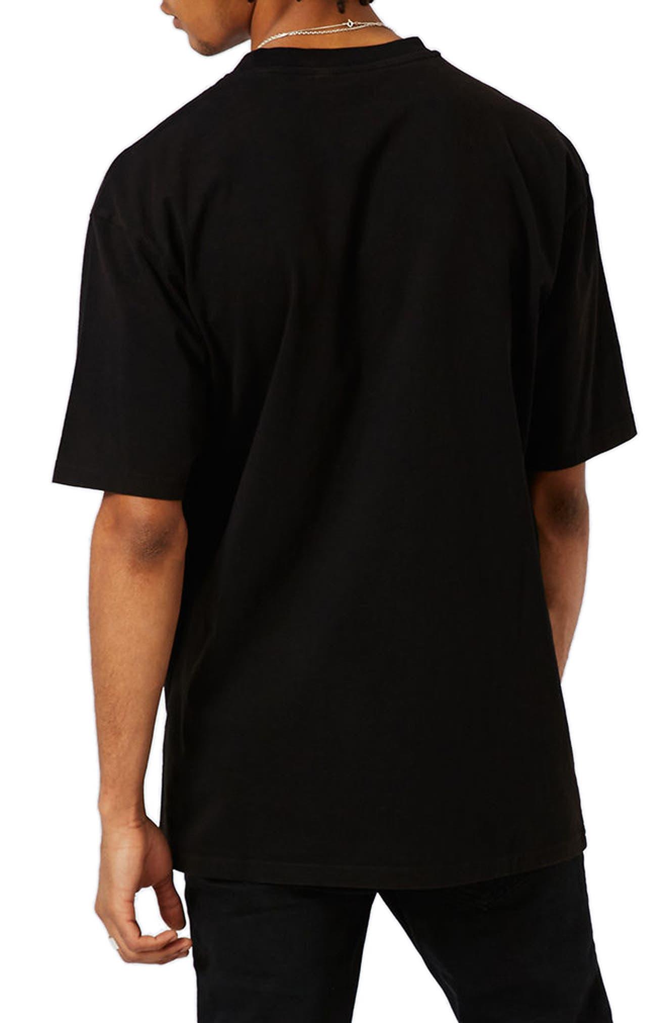 Tupac Graphic Oversize T-Shirt,                             Alternate thumbnail 2, color,                             001