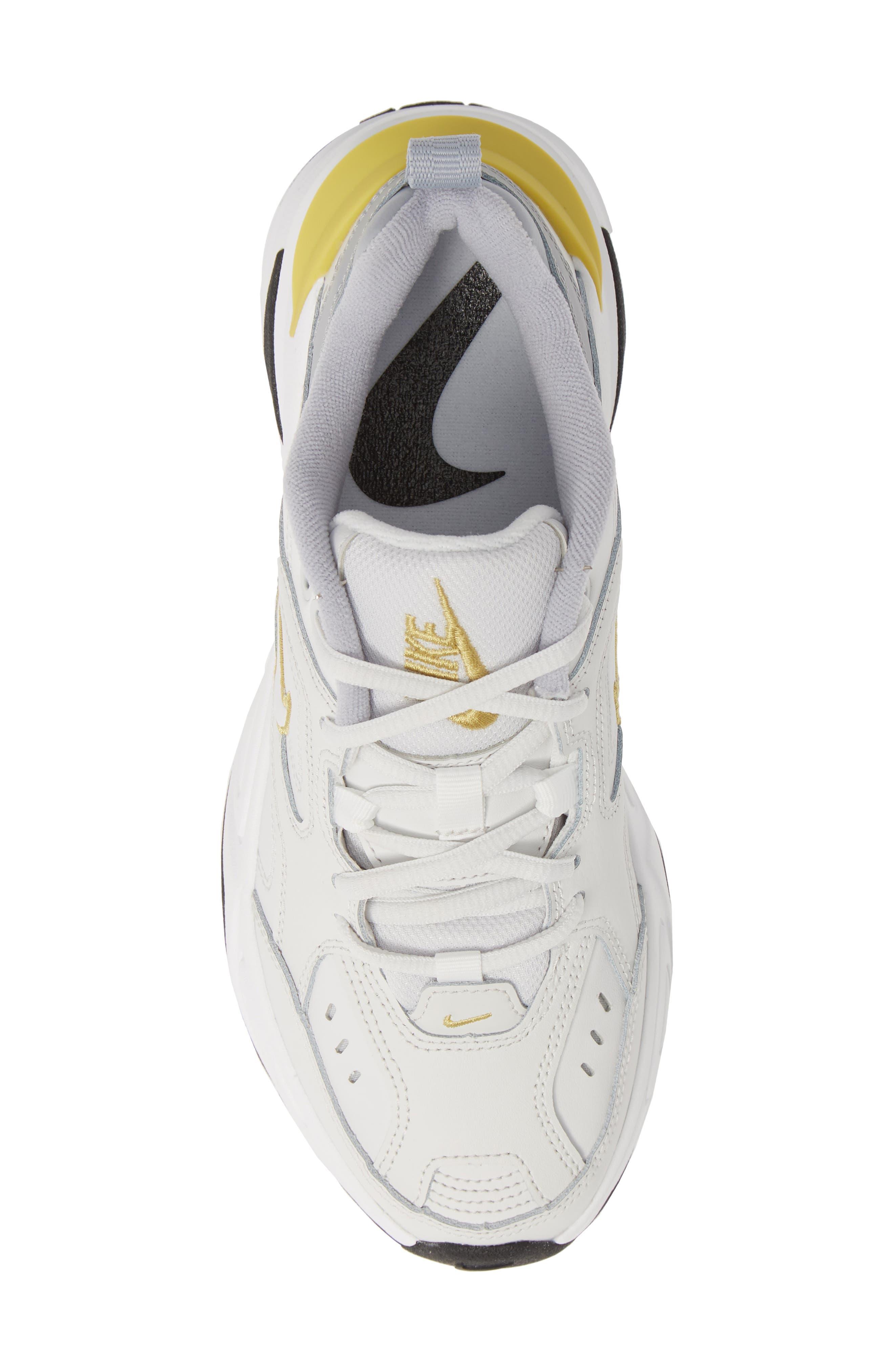 M2K Tekno Sneaker,                             Alternate thumbnail 5, color,                             PLATINUM TINT/ CELERY/ GREY