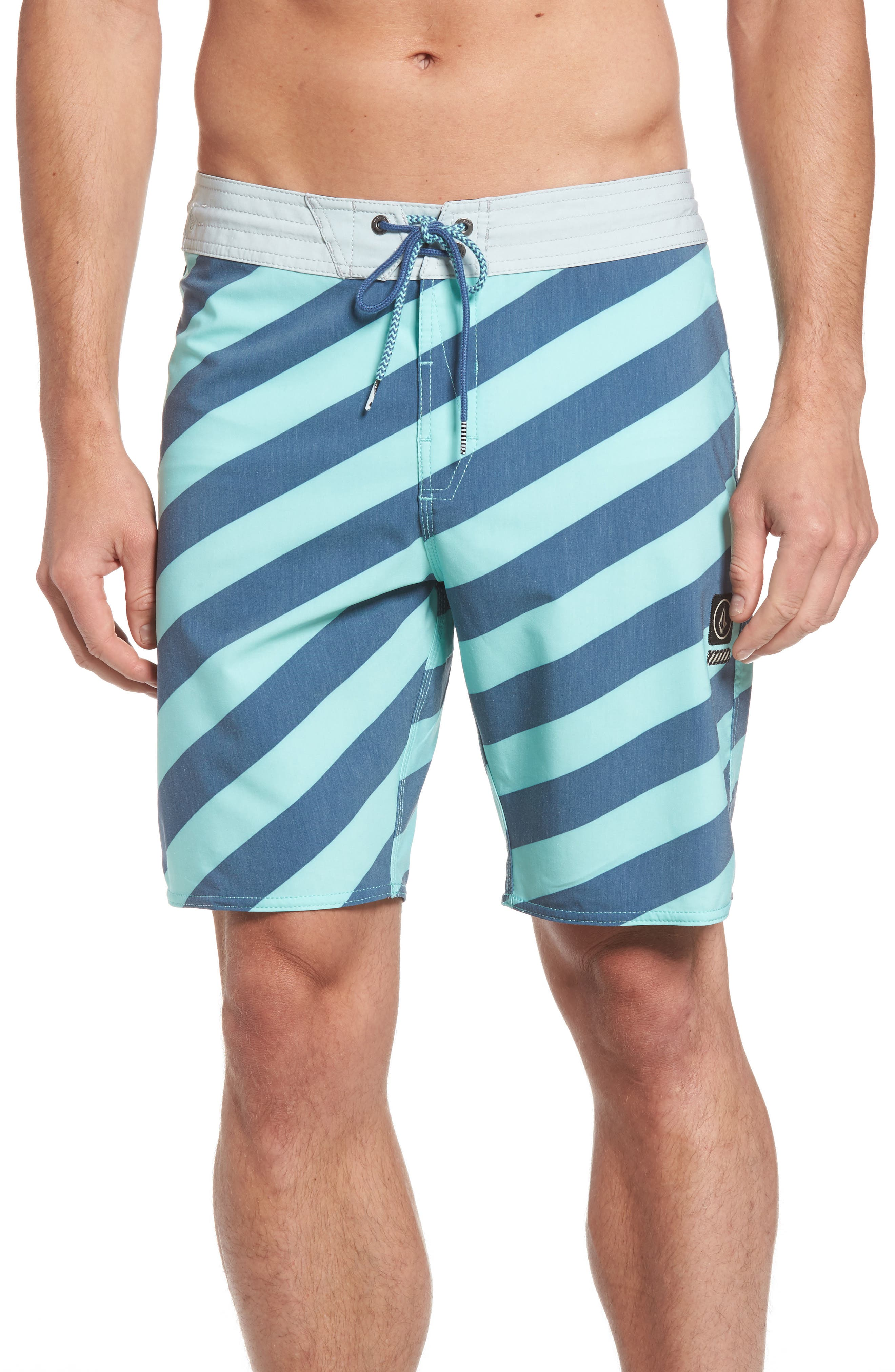 Stripey Slinger Board Shorts,                             Main thumbnail 3, color,
