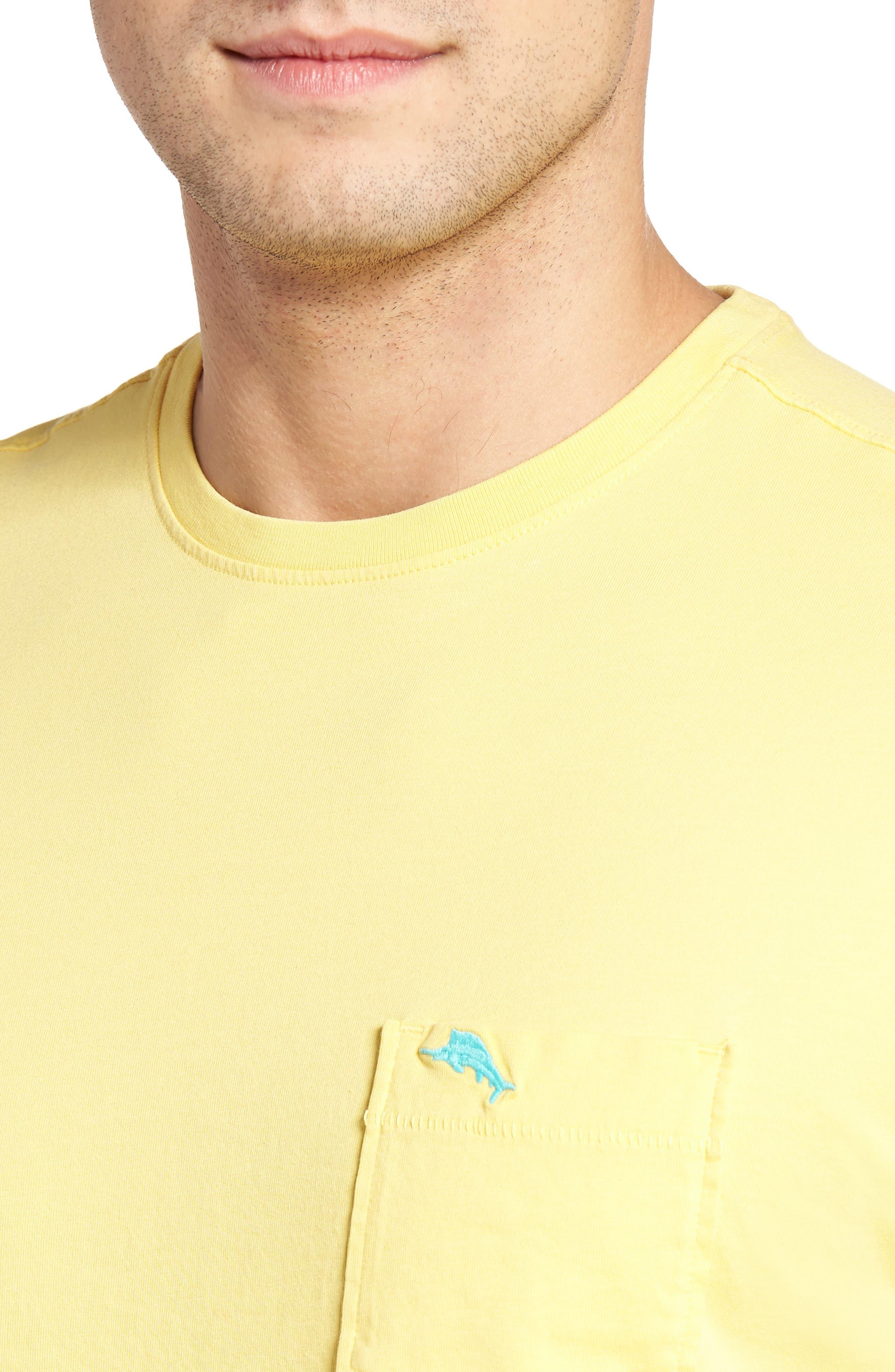 New Bali Sky Pima Cotton Pocket T-Shirt,                             Alternate thumbnail 106, color,