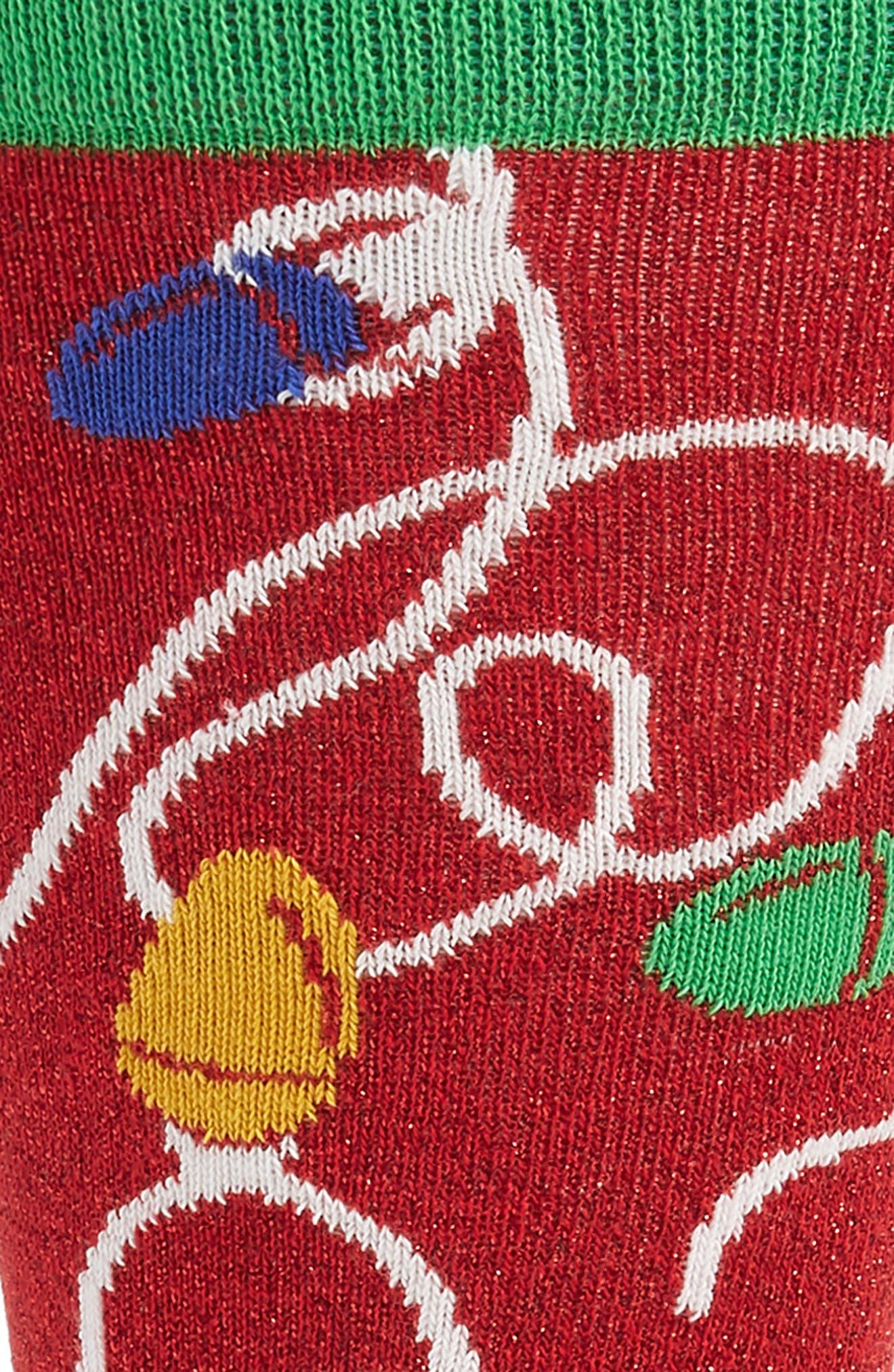 Holiday Lights Socks,                             Alternate thumbnail 2, color,                             614