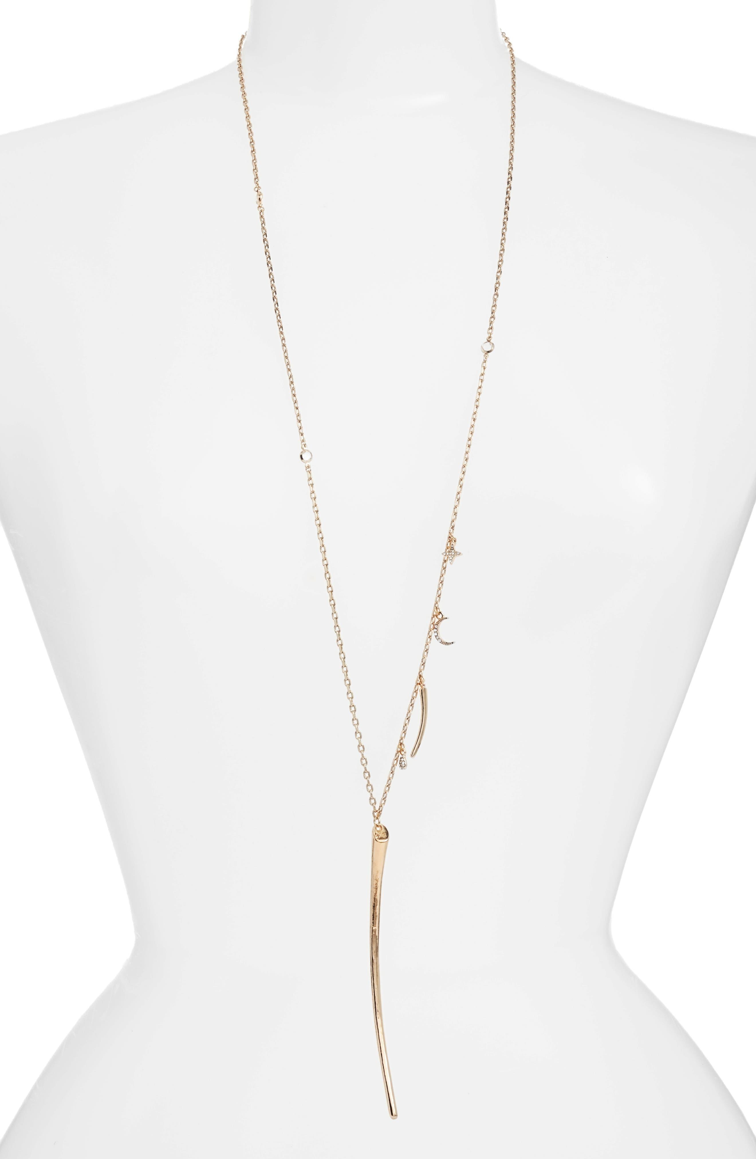 Charm Necklace,                         Main,                         color,