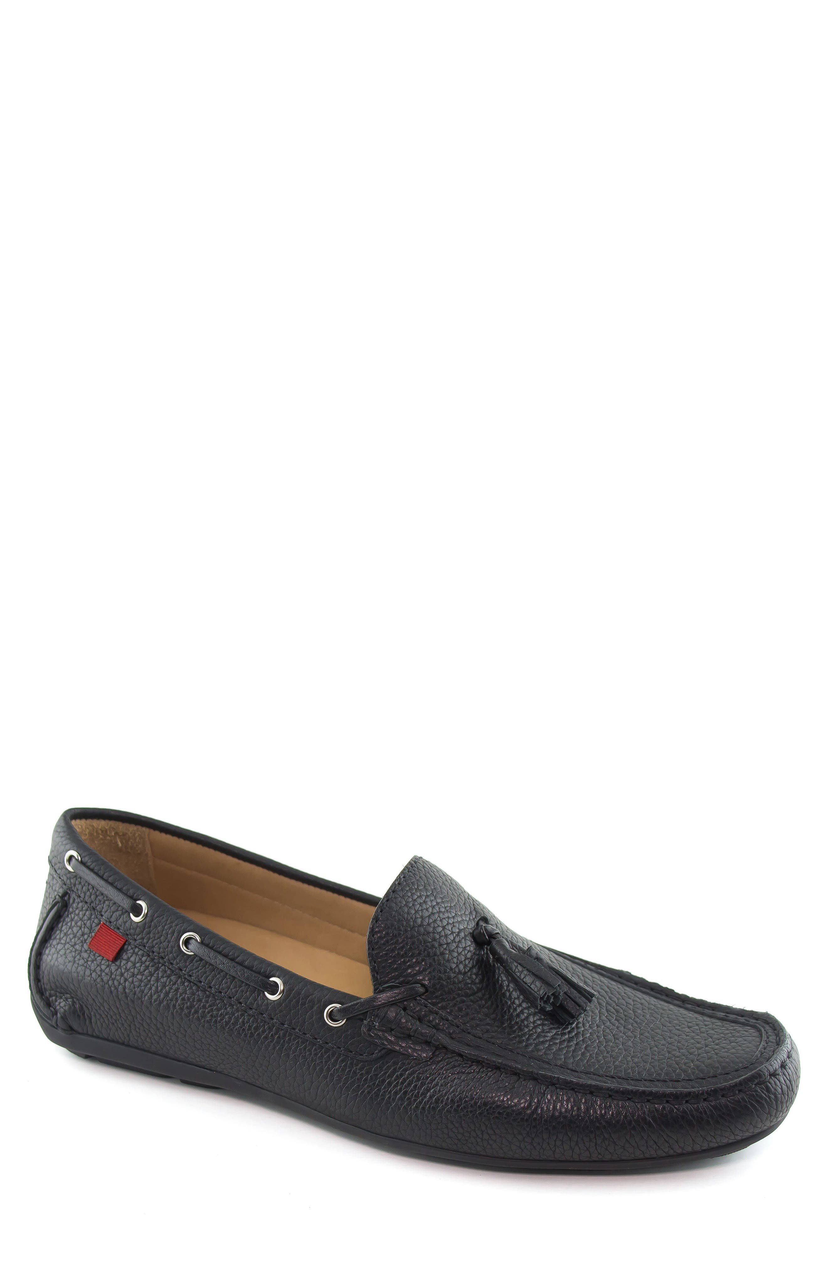 Bushwick Tasseled Driving Loafer,                             Main thumbnail 1, color,                             001