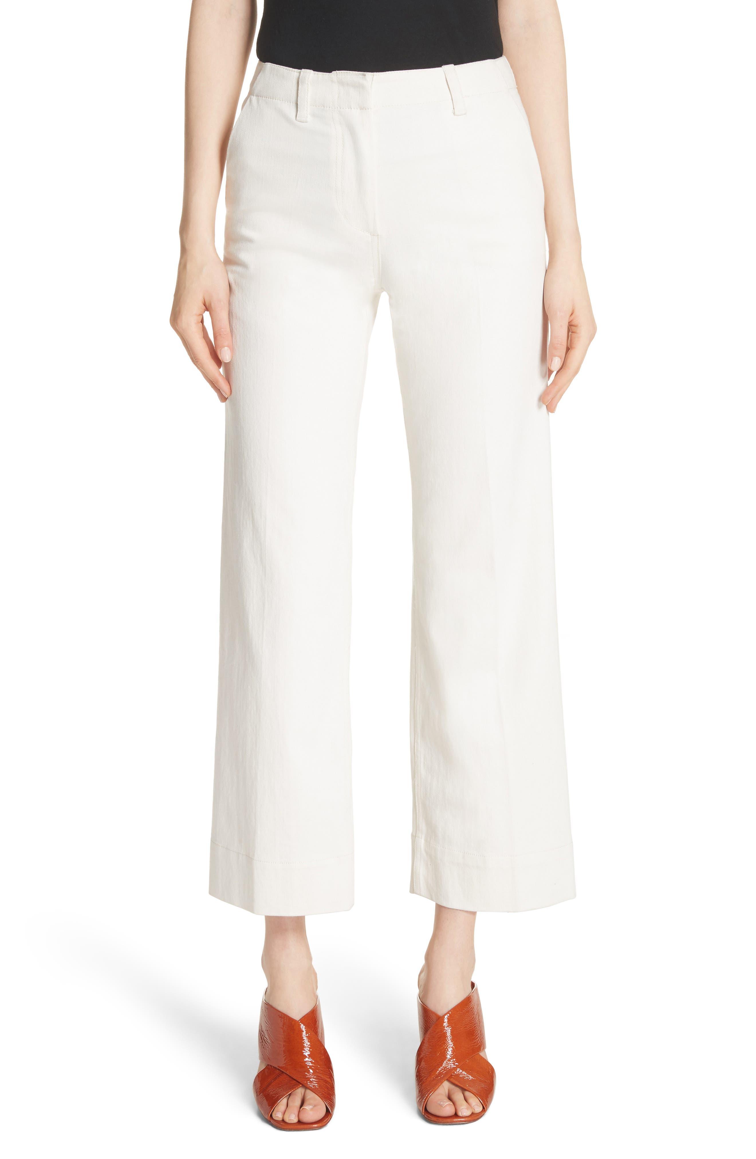 Terry Wide Leg Jeans,                         Main,                         color, 903