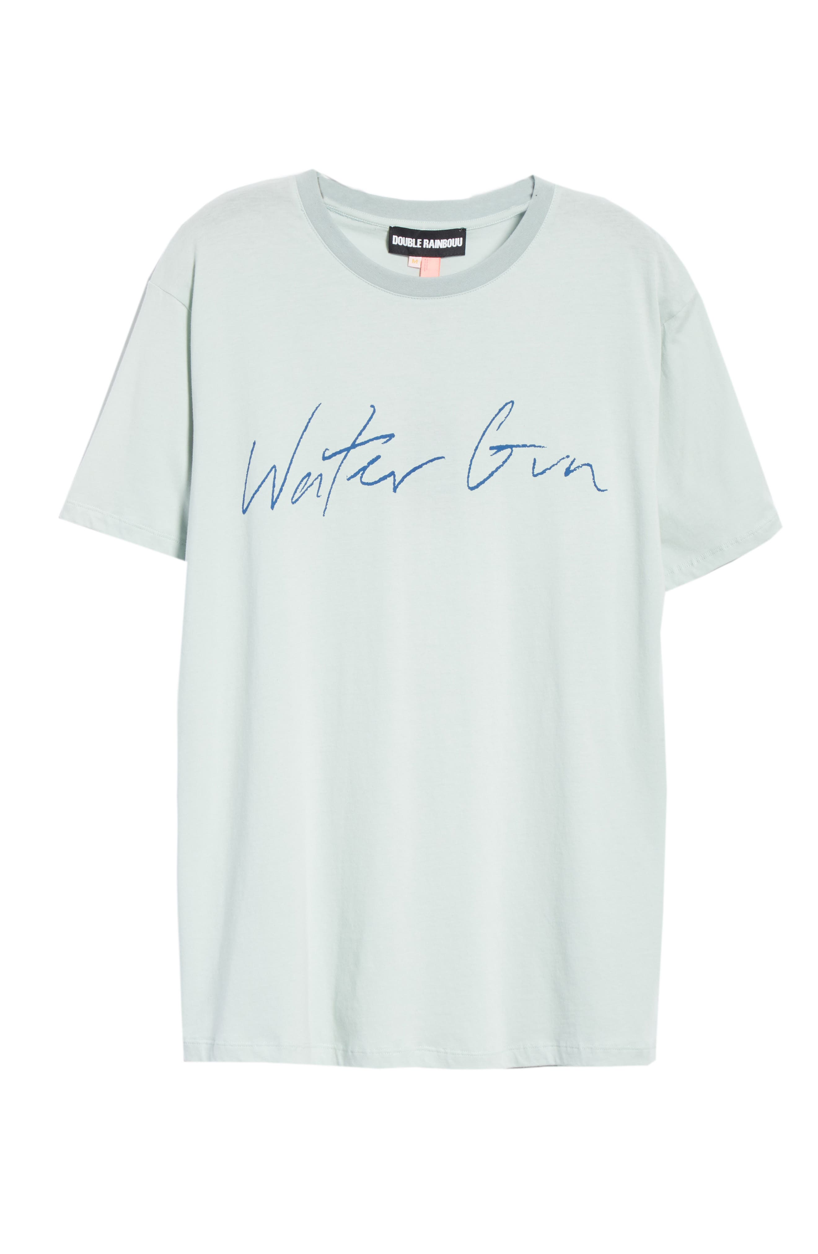 Water Gun Graphic T-Shirt,                             Alternate thumbnail 6, color,                             BLUE